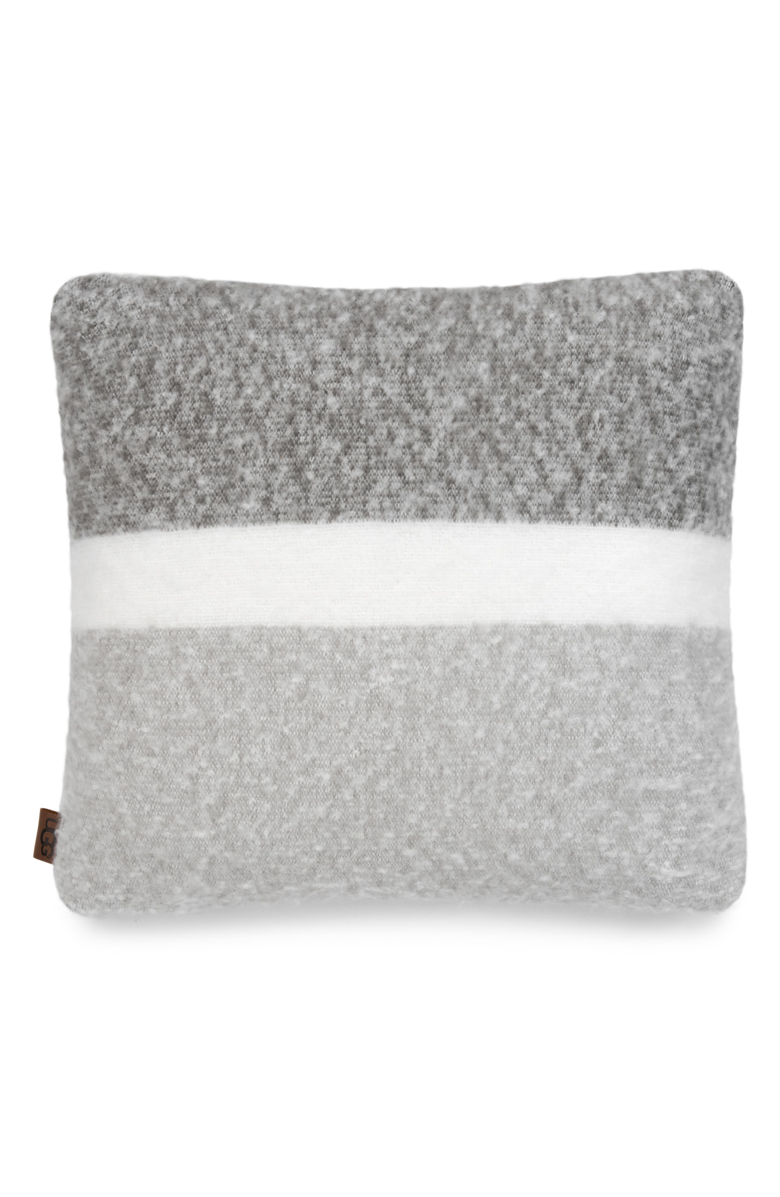 San Mateo Accent Pillow,                             Main thumbnail 1, color,                             GREY MULTI