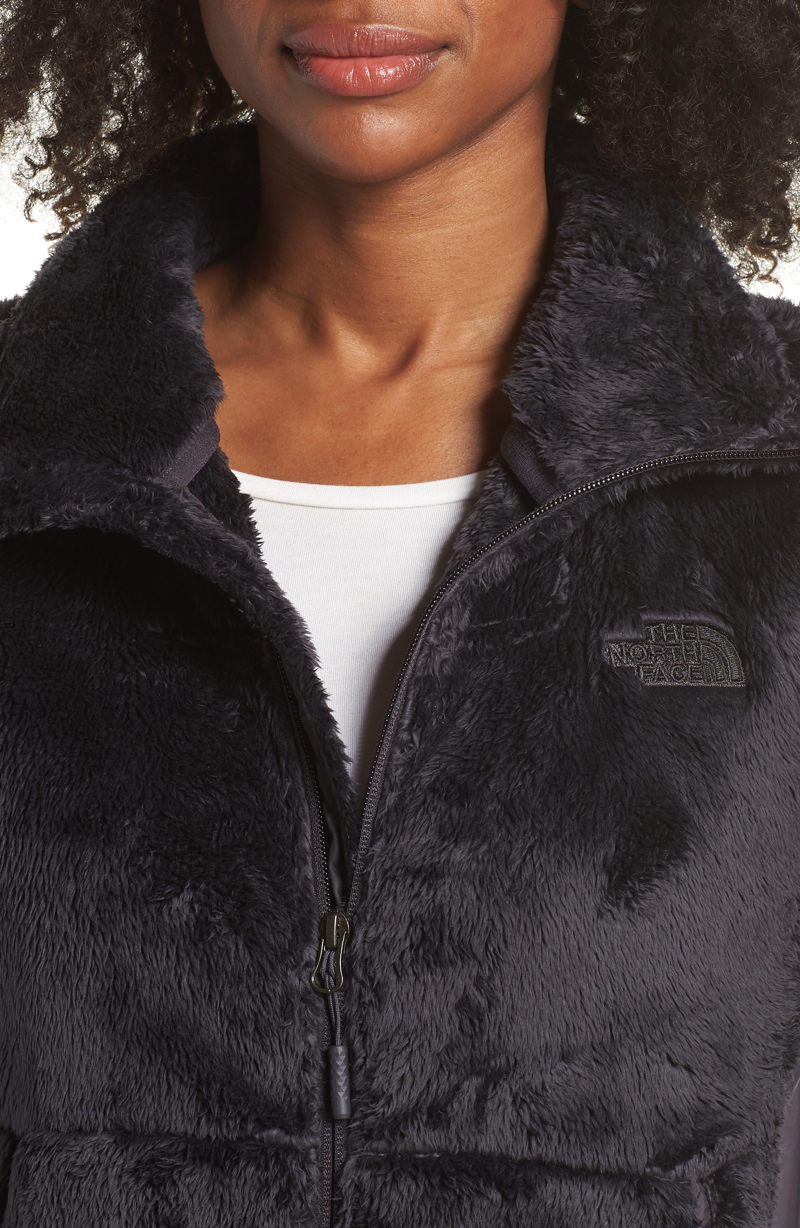 Osito Sport Hybrid Jacket,                             Alternate thumbnail 4, color,                             WEATHERED BLACK