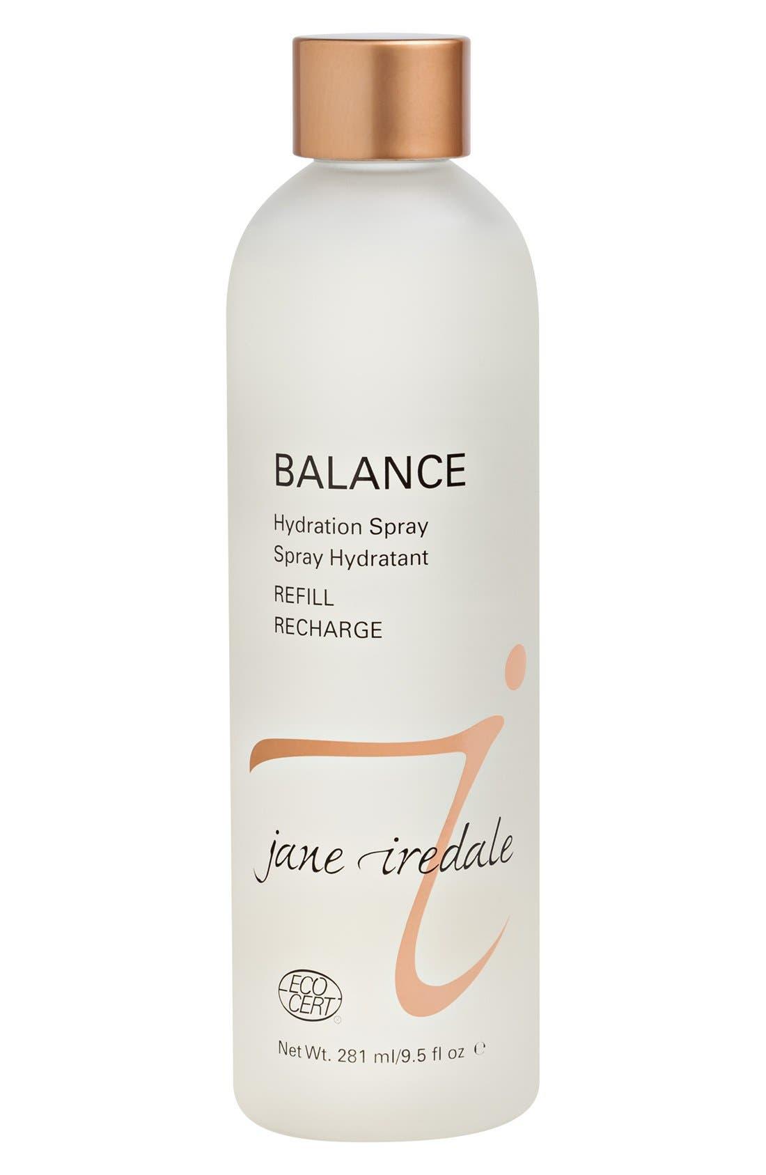 Balance Hydration Spray Refill,                             Main thumbnail 1, color,                             BROWN