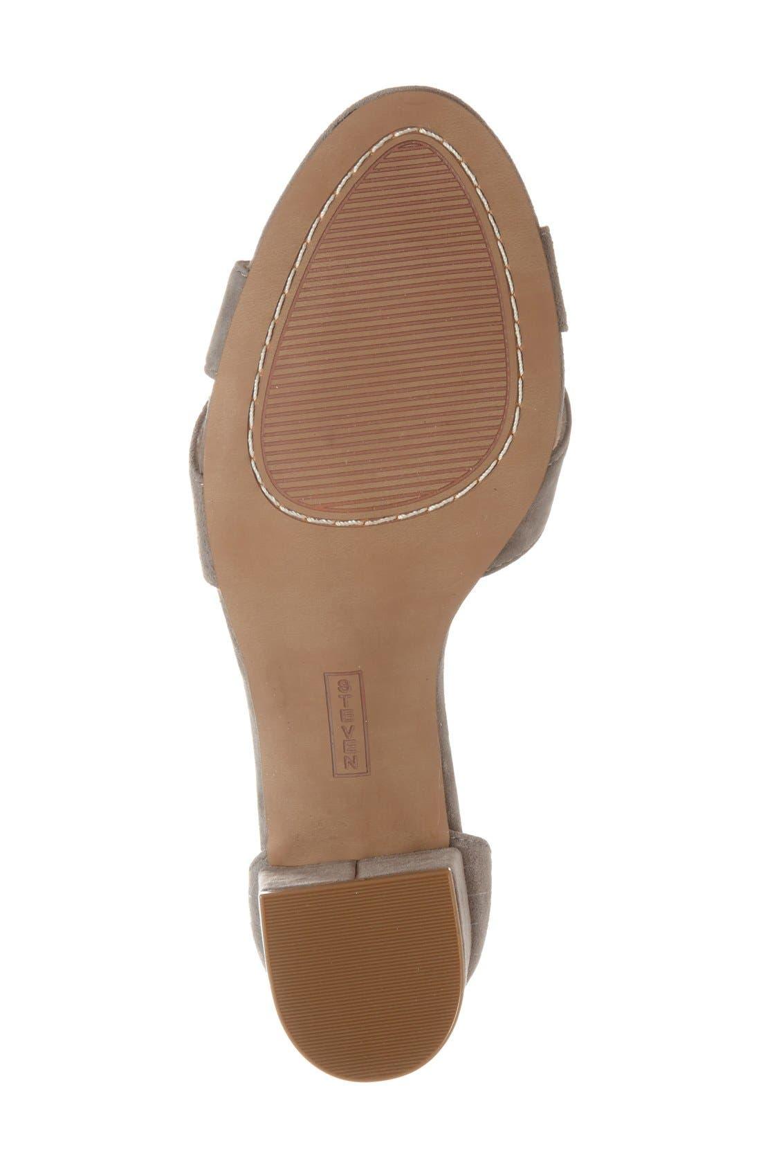 'Voomme' Ankle Strap Sandal,                             Alternate thumbnail 18, color,