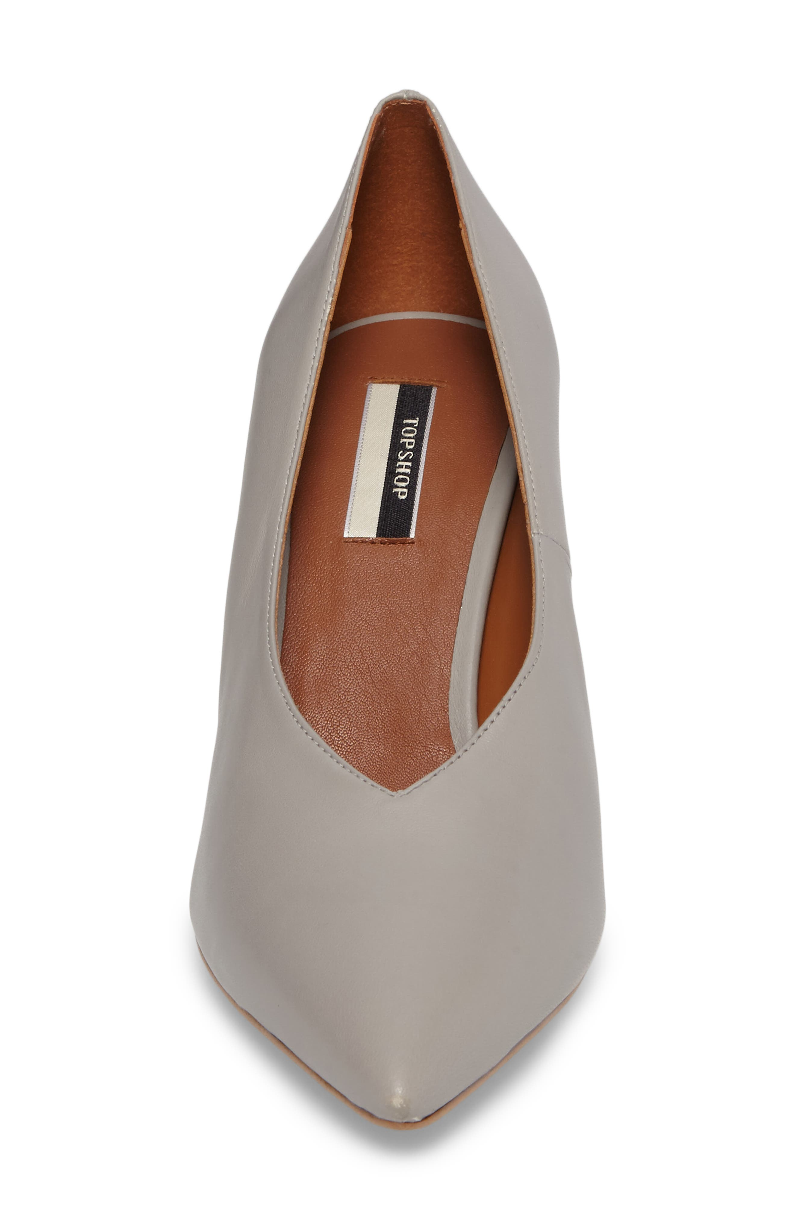 Journal Pointy Toe Pump,                             Alternate thumbnail 4, color,                             020