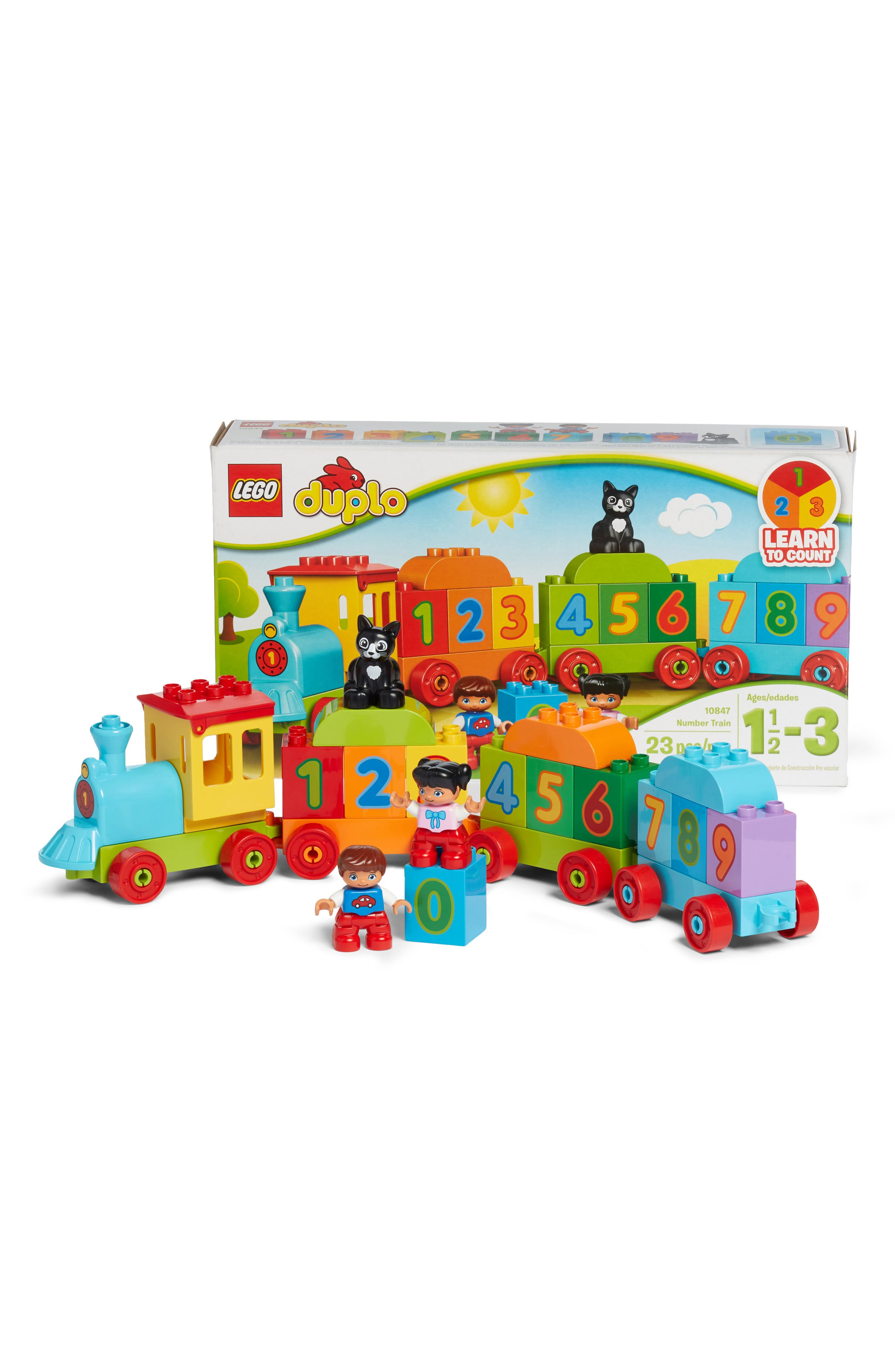 DUPLO<sup>®</sup> Number Train - 10847,                             Alternate thumbnail 2, color,                             300