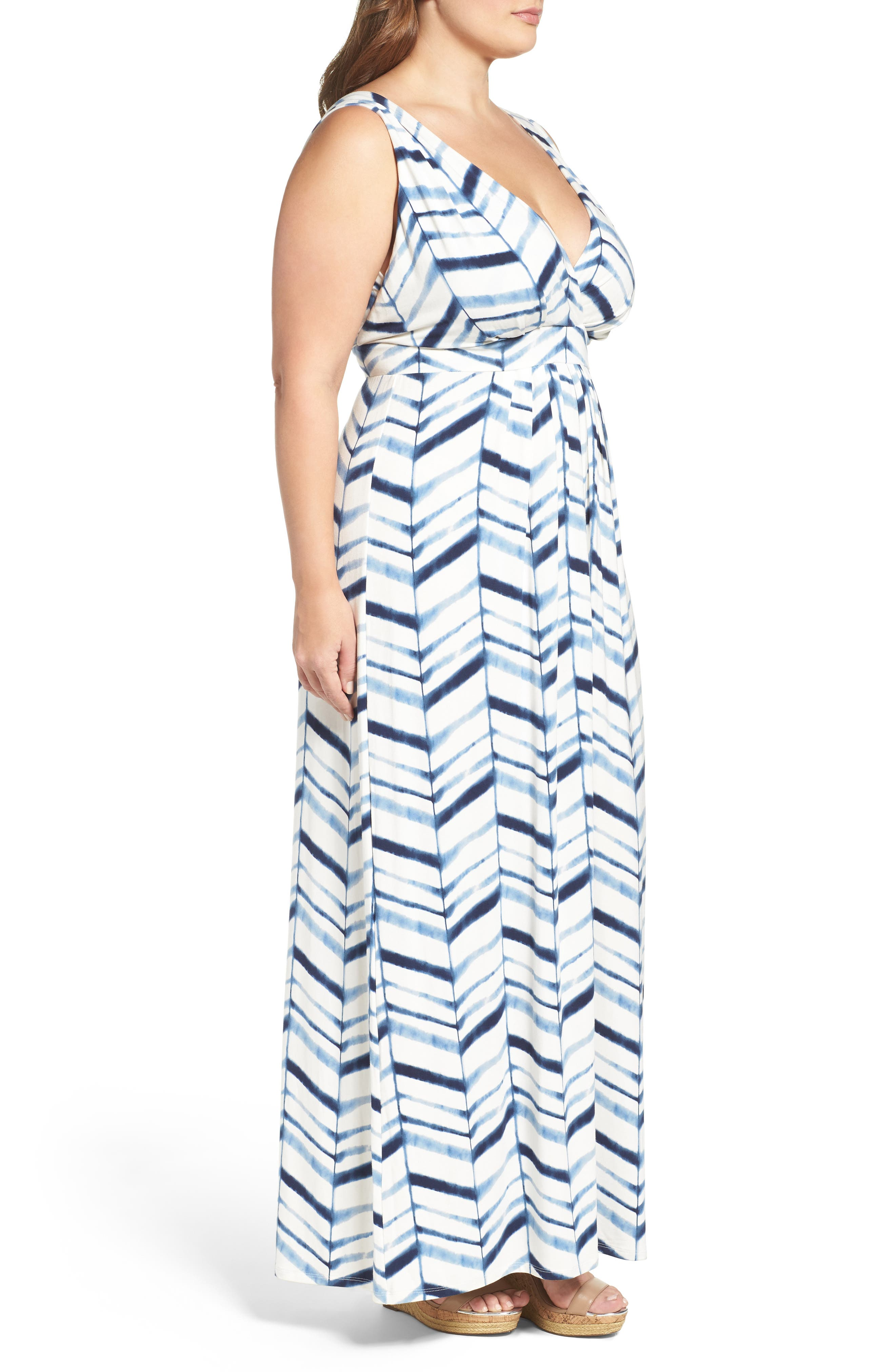Chloe Empire Waist Maxi Dress,                             Alternate thumbnail 65, color,