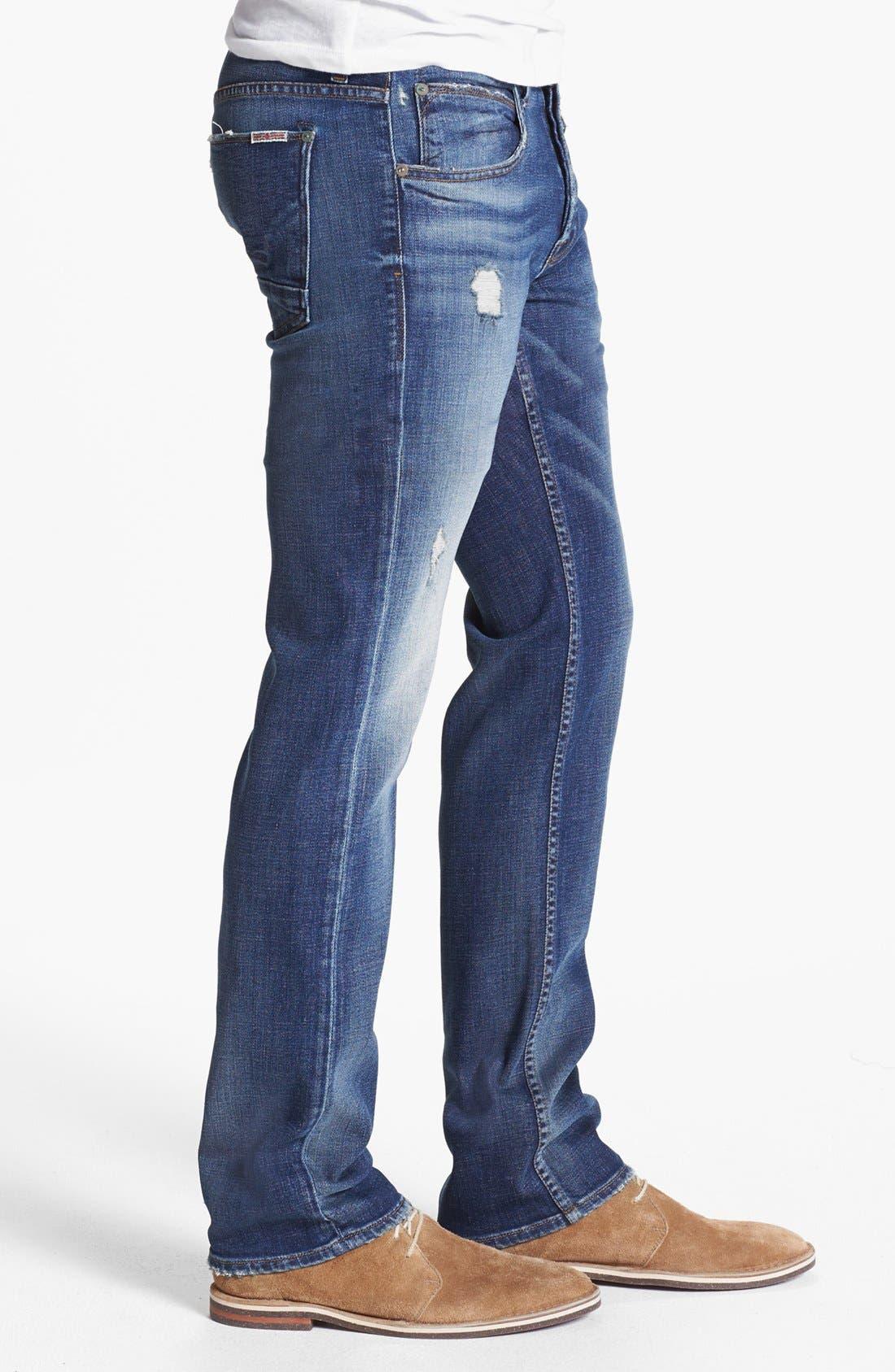 'Byron' Straight Leg Jeans,                             Alternate thumbnail 2, color,                             400