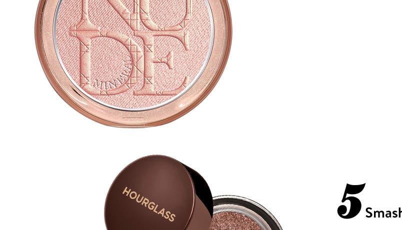 High Five: top-rated metallic makeup.