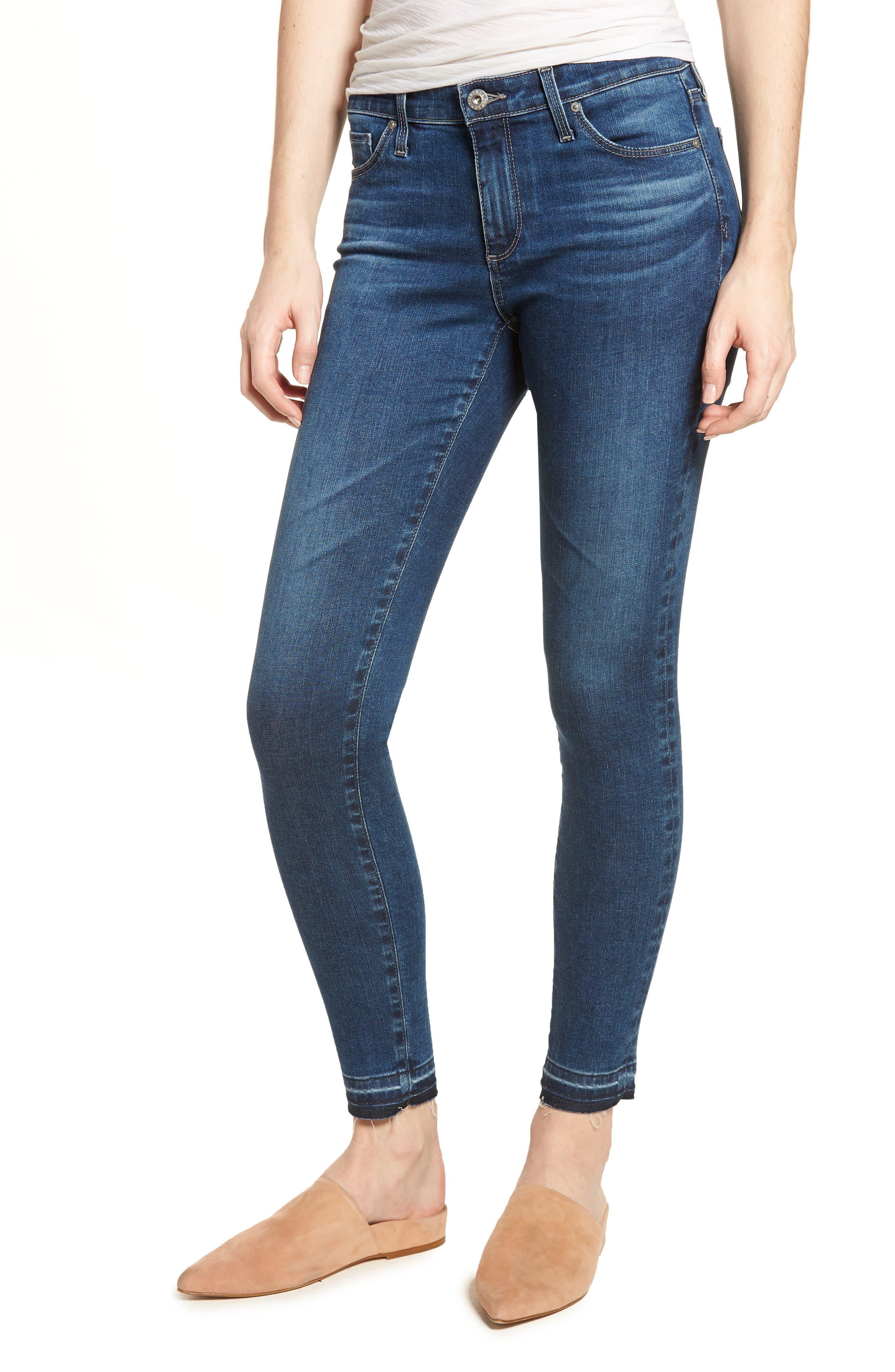 The Legging Ankle Super Skinny Jeans,                         Main,                         color, 421