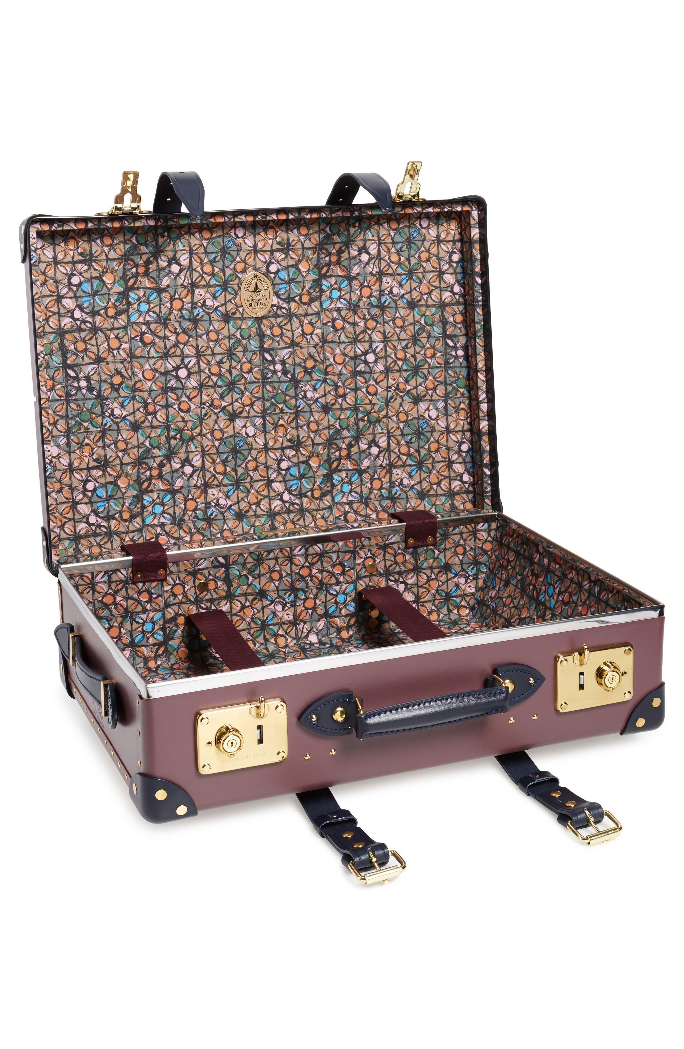 Brinjal 21-Inch Hardshell Travel Trolley Case,                             Alternate thumbnail 2, color,                             500