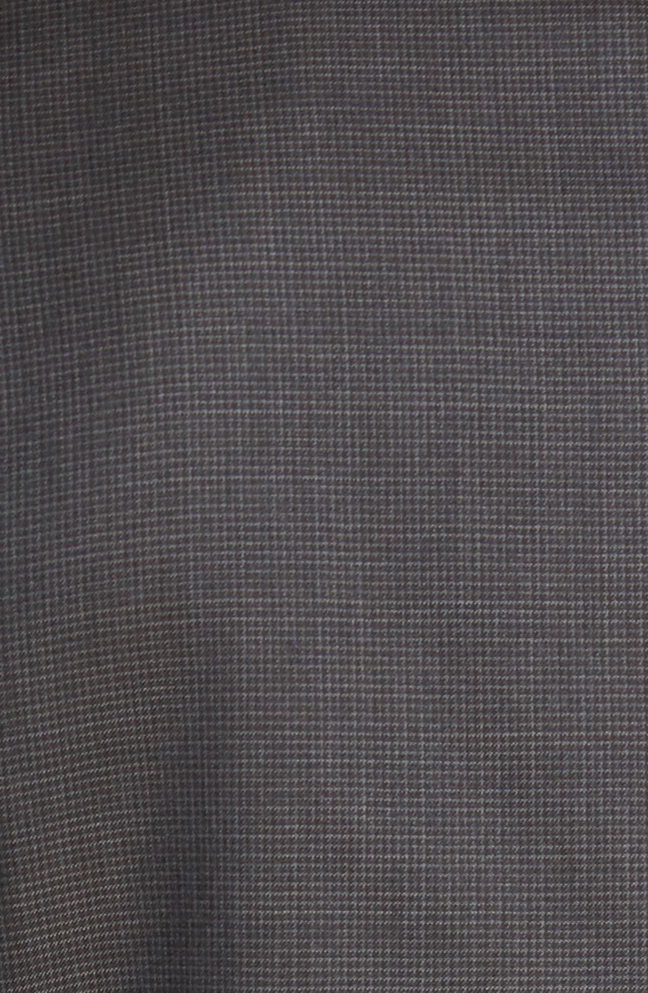 Classic Fit Check Wool Suit,                             Alternate thumbnail 26, color,
