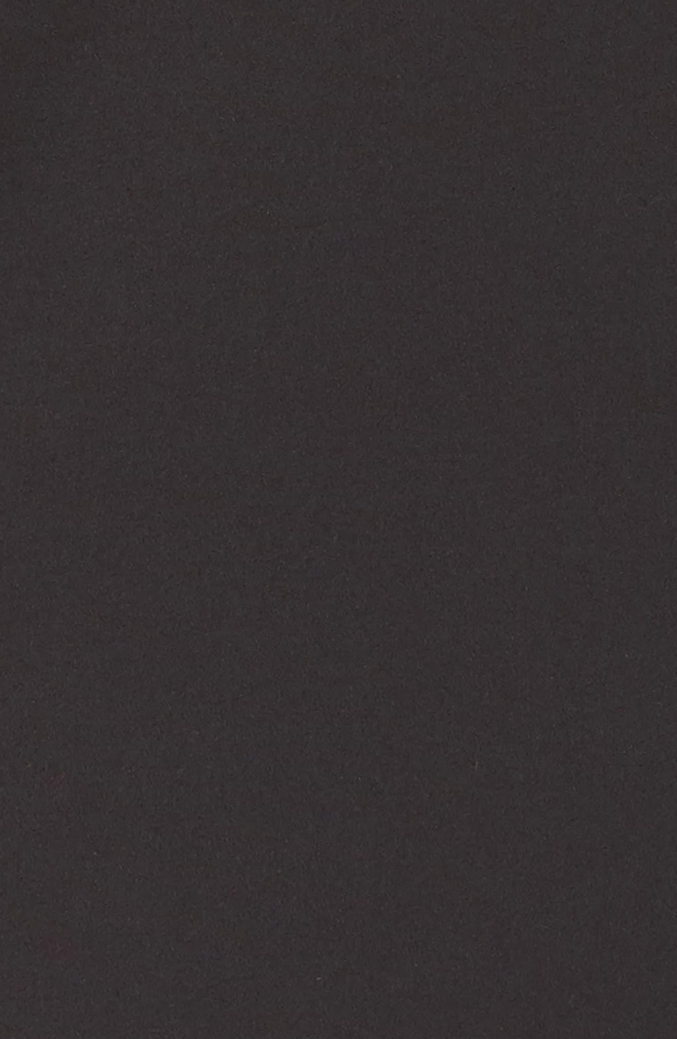 'Lolo' Stretch Sheath Dress,                             Alternate thumbnail 7, color,                             BLACK