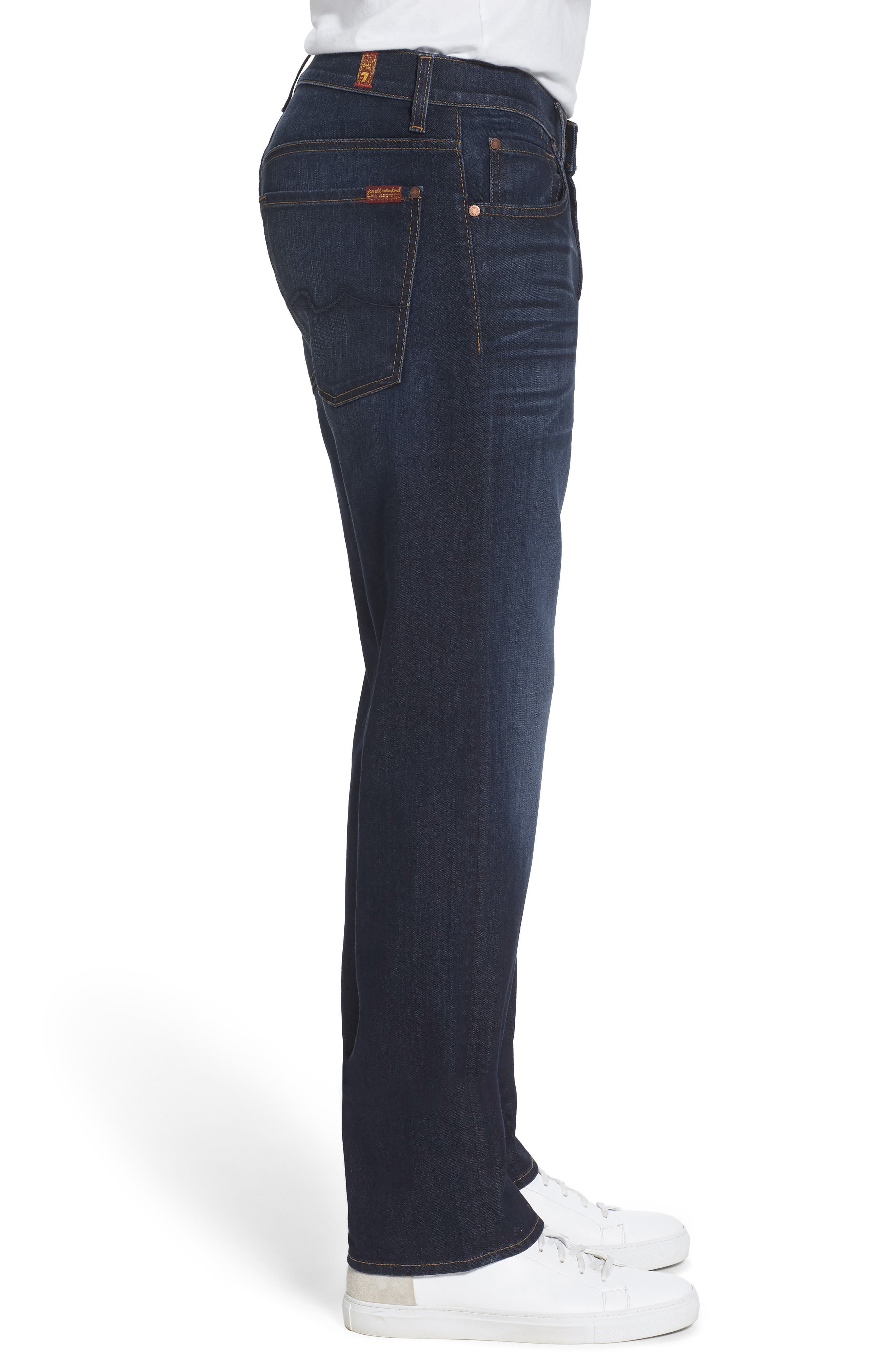 Airweft Austyn Relaxed Straight Leg Jeans,                             Alternate thumbnail 3, color,                             400