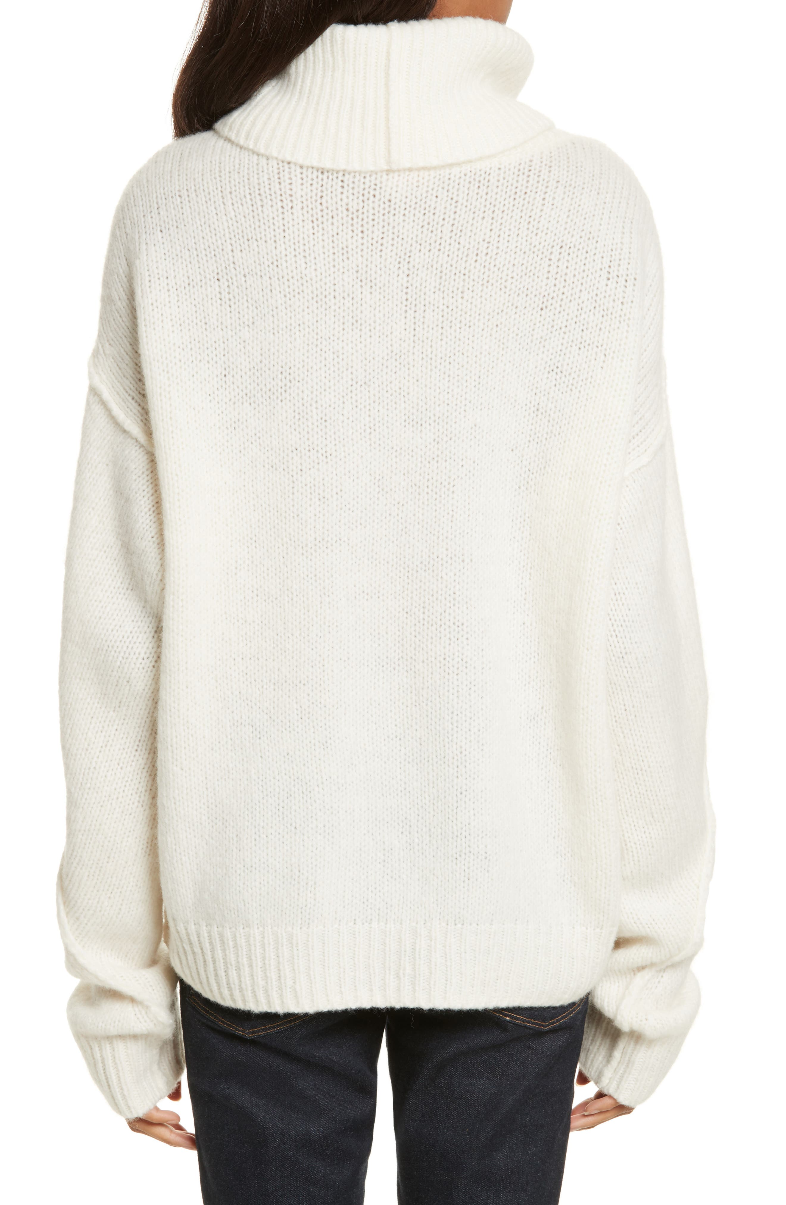 Eva Sweater with Removable Turtleneck,                             Alternate thumbnail 6, color,