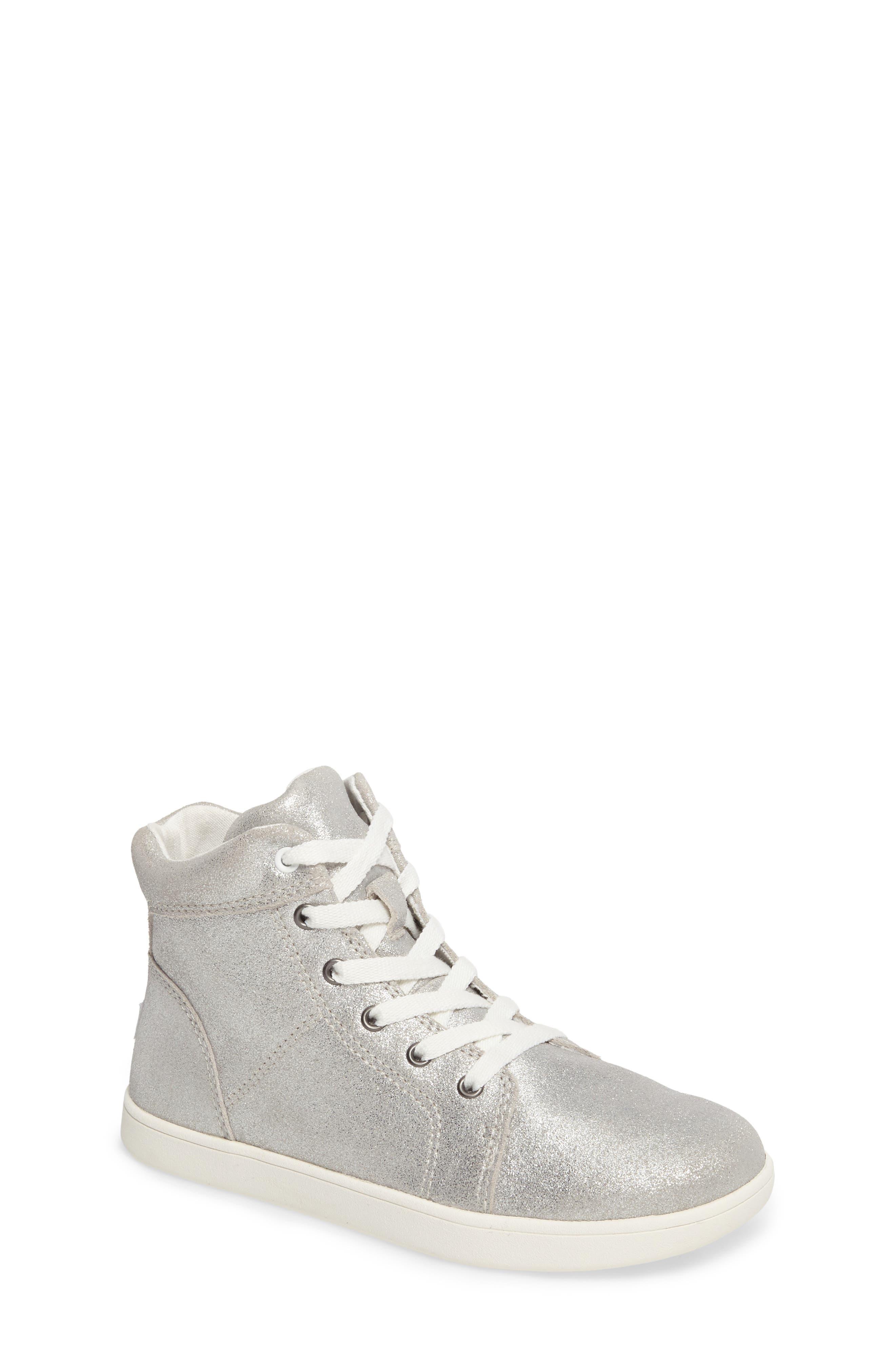 Schyler Metallic High Top Sneaker,                         Main,                         color, 040