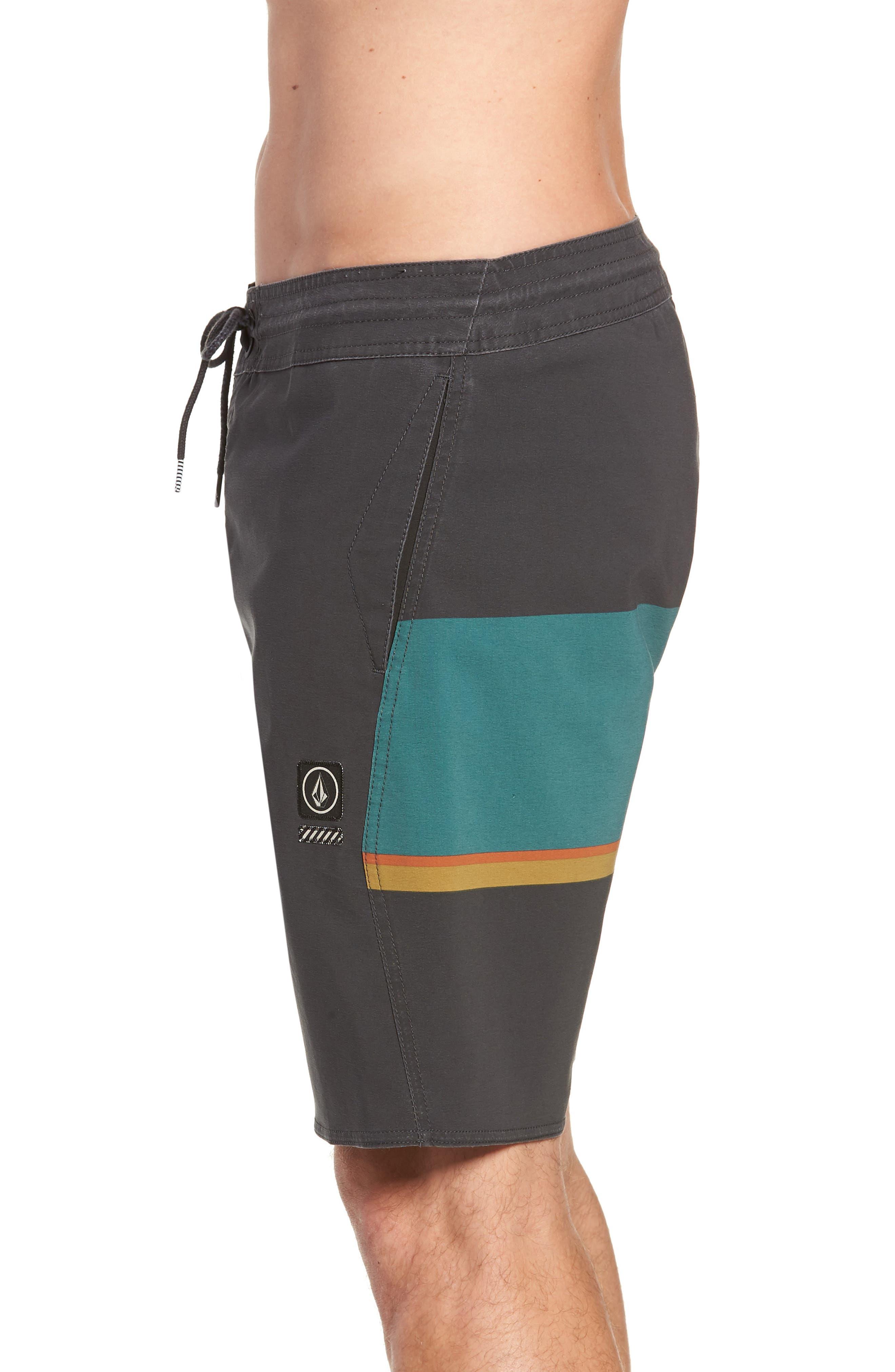 VOLCOM,                             3 Quarta Stoney Board Shorts,                             Alternate thumbnail 3, color,                             366