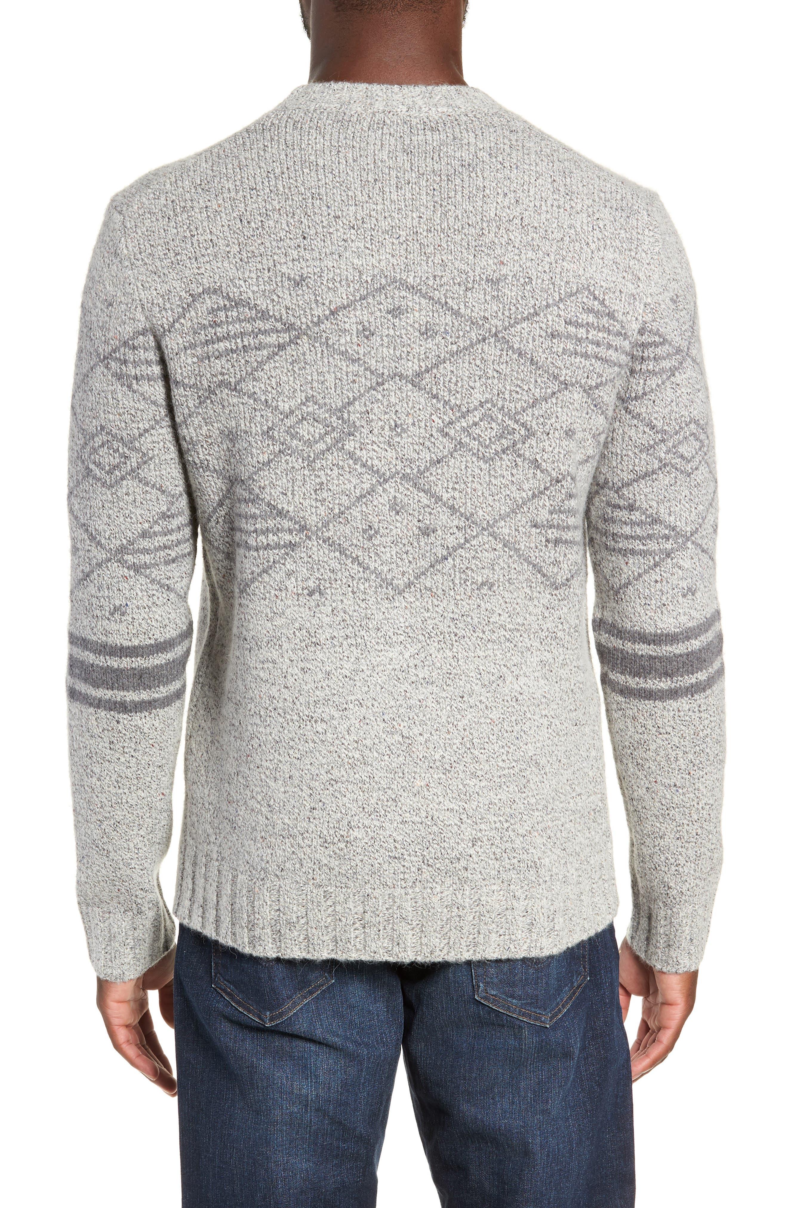 Fair Isle Regular Fit Sweater,                             Alternate thumbnail 2, color,                             060