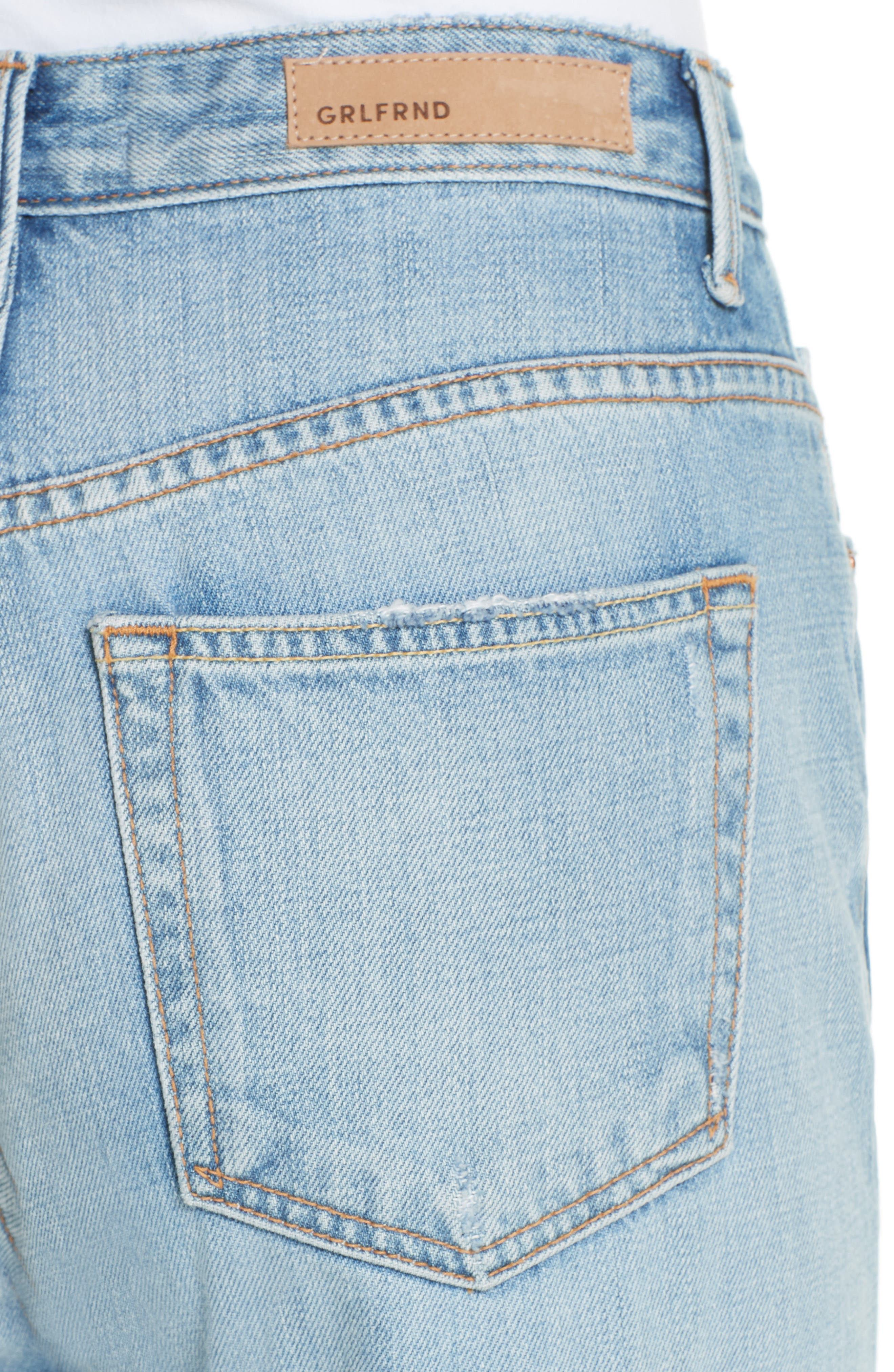 Carla Wide Leg Jeans,                             Alternate thumbnail 4, color,                             GONNA FLY NOW