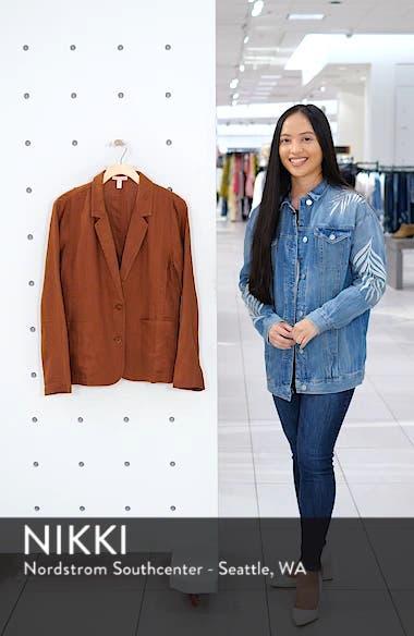 Organic Linen Blazer, sales video thumbnail