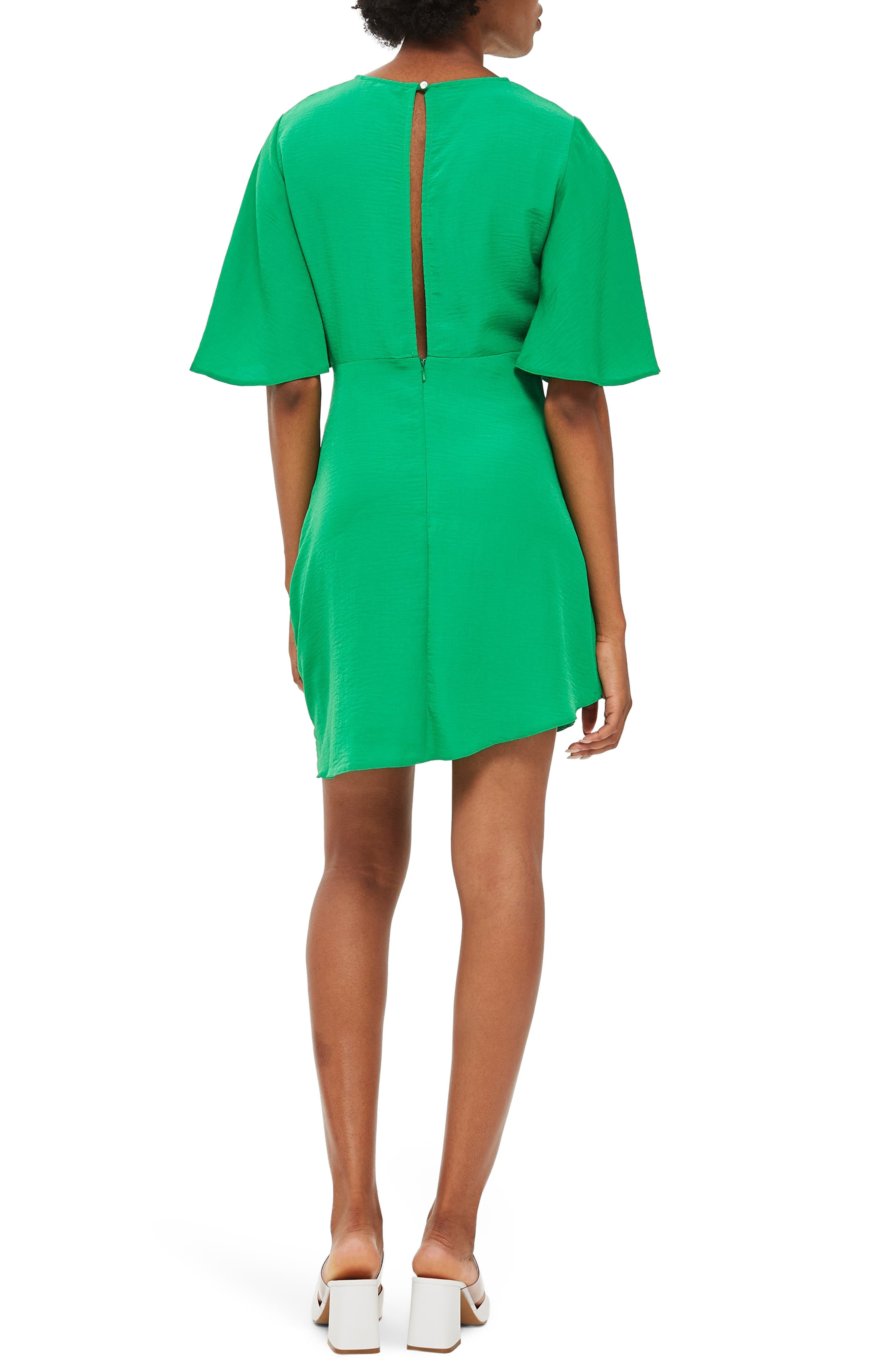 Cutabout Minidress,                             Alternate thumbnail 2, color,                             GREEN