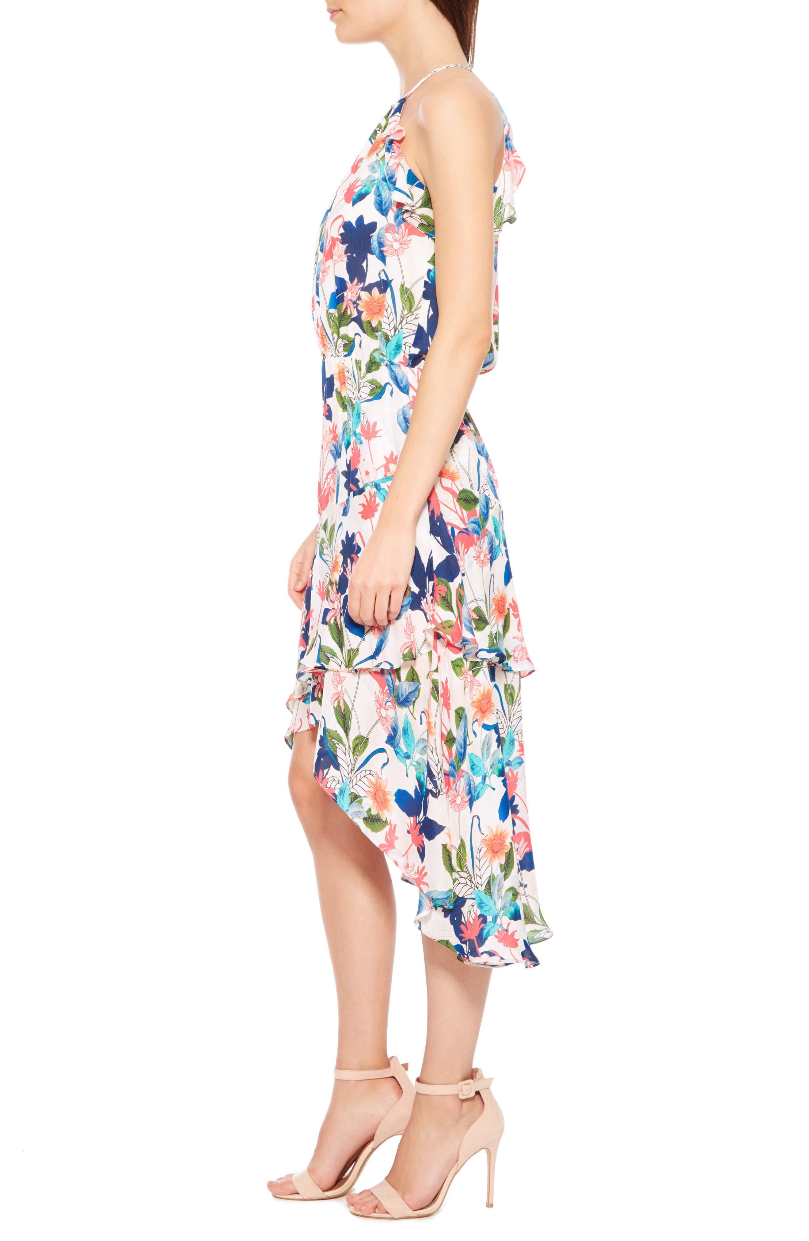 Allister Silk Dress,                             Alternate thumbnail 3, color,                             170