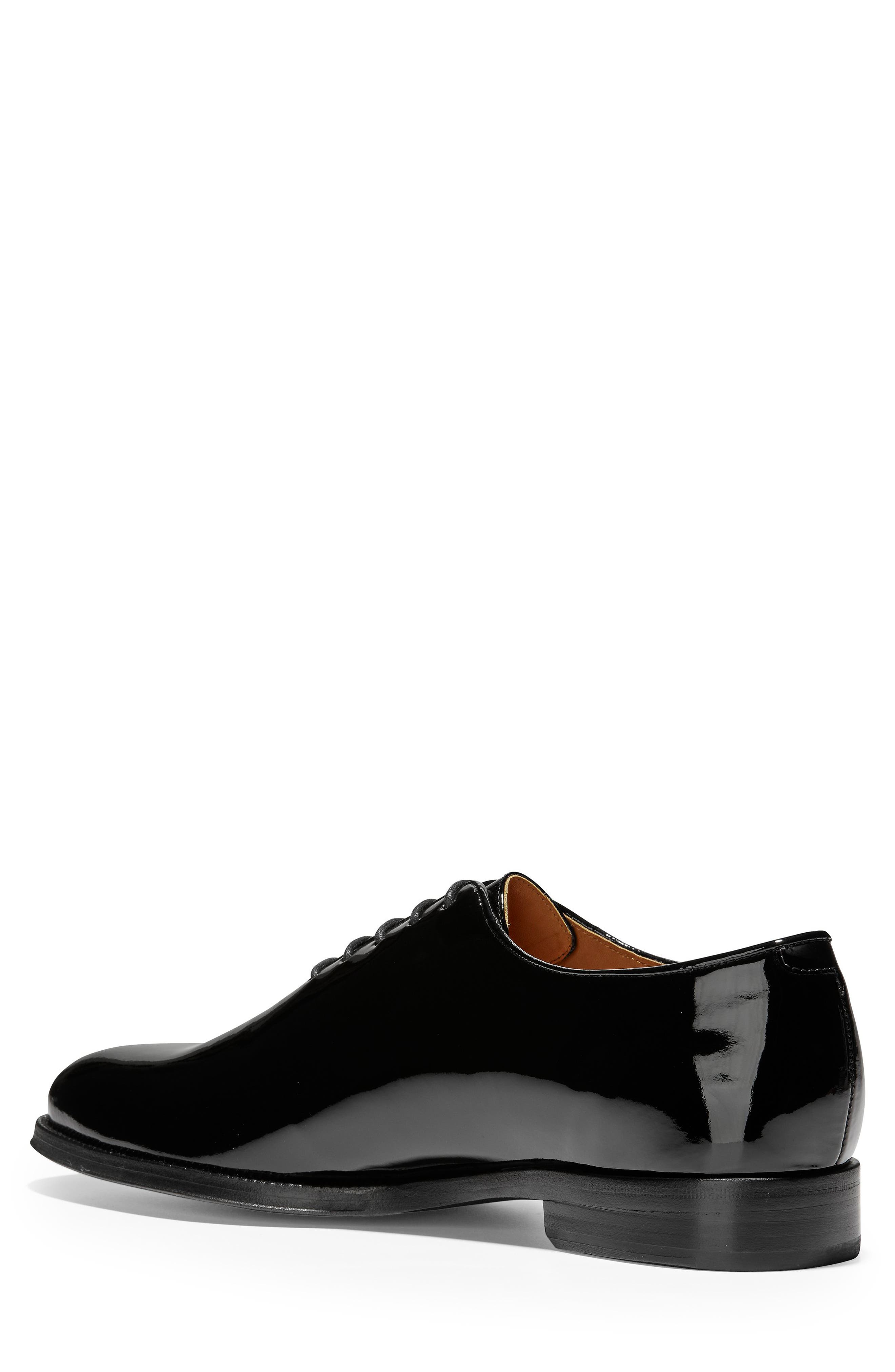 American Classics Grammercy Whole Cut Shoe,                             Alternate thumbnail 2, color,                             BLACK PATENT LEATHER