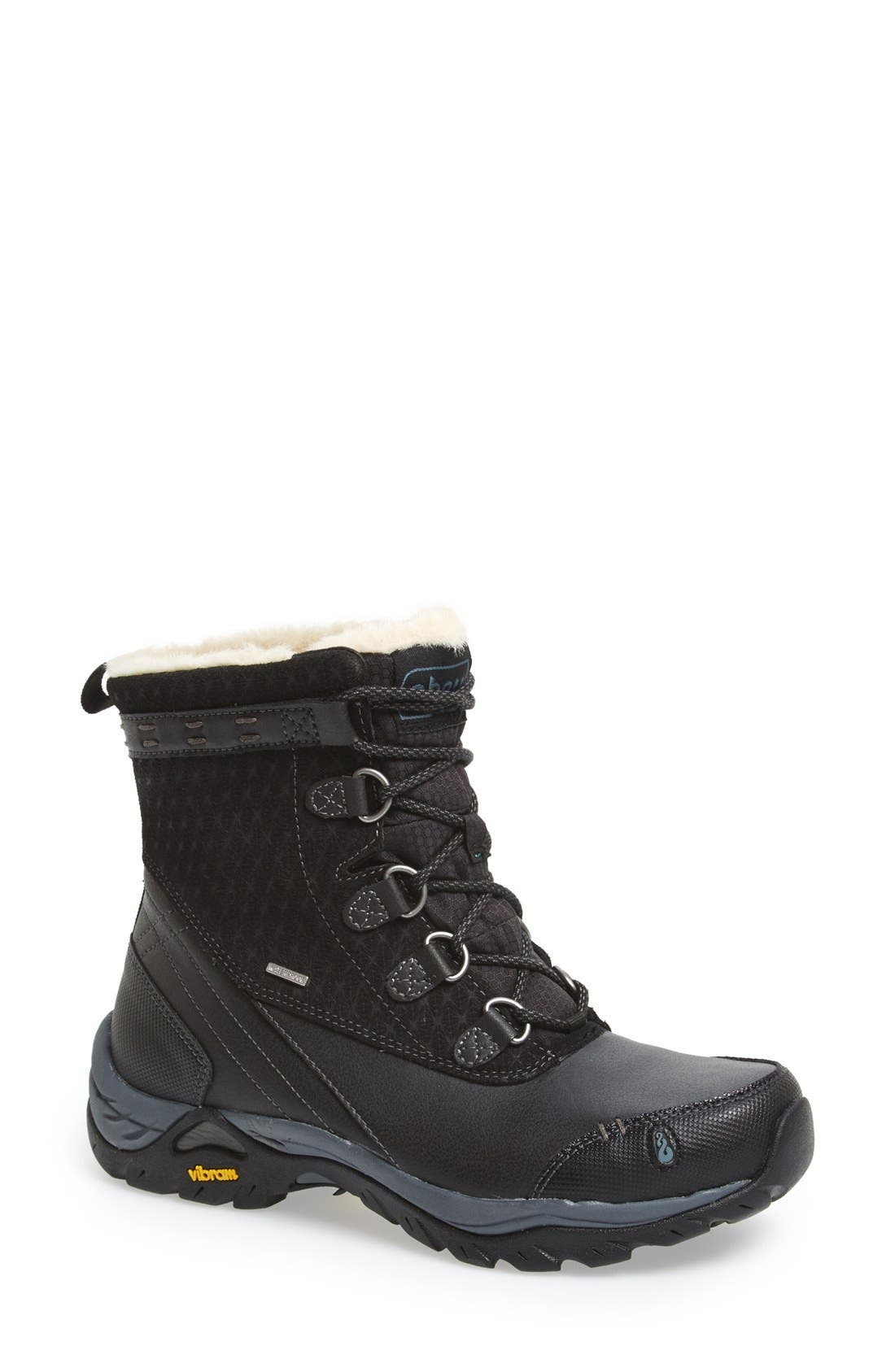 'Twain Harte' Insulated Waterproof Boot,                             Main thumbnail 1, color,                             001