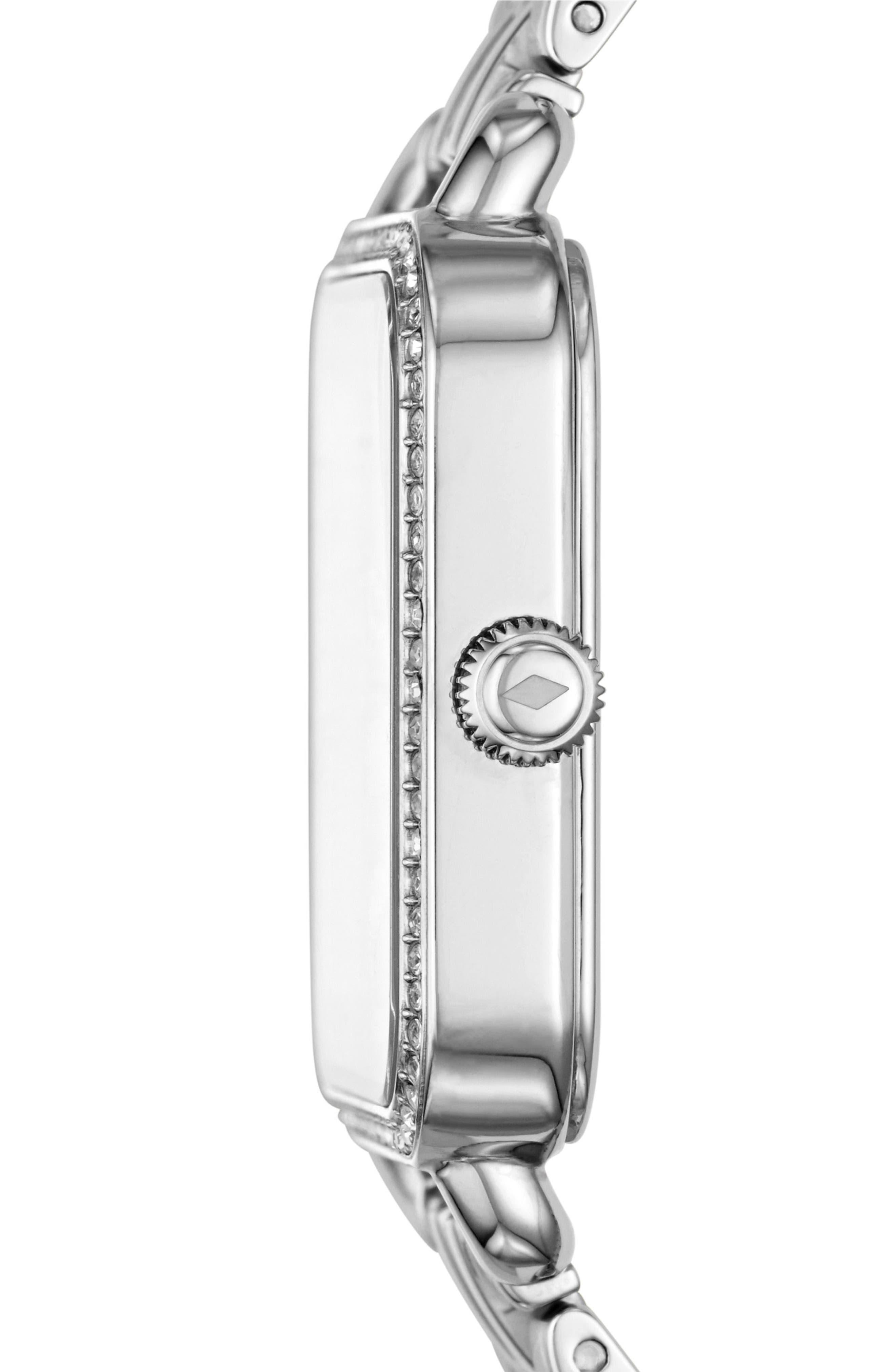 Micah Square Bracelet Watch, 32mm x 32mm,                             Alternate thumbnail 2, color,                             040