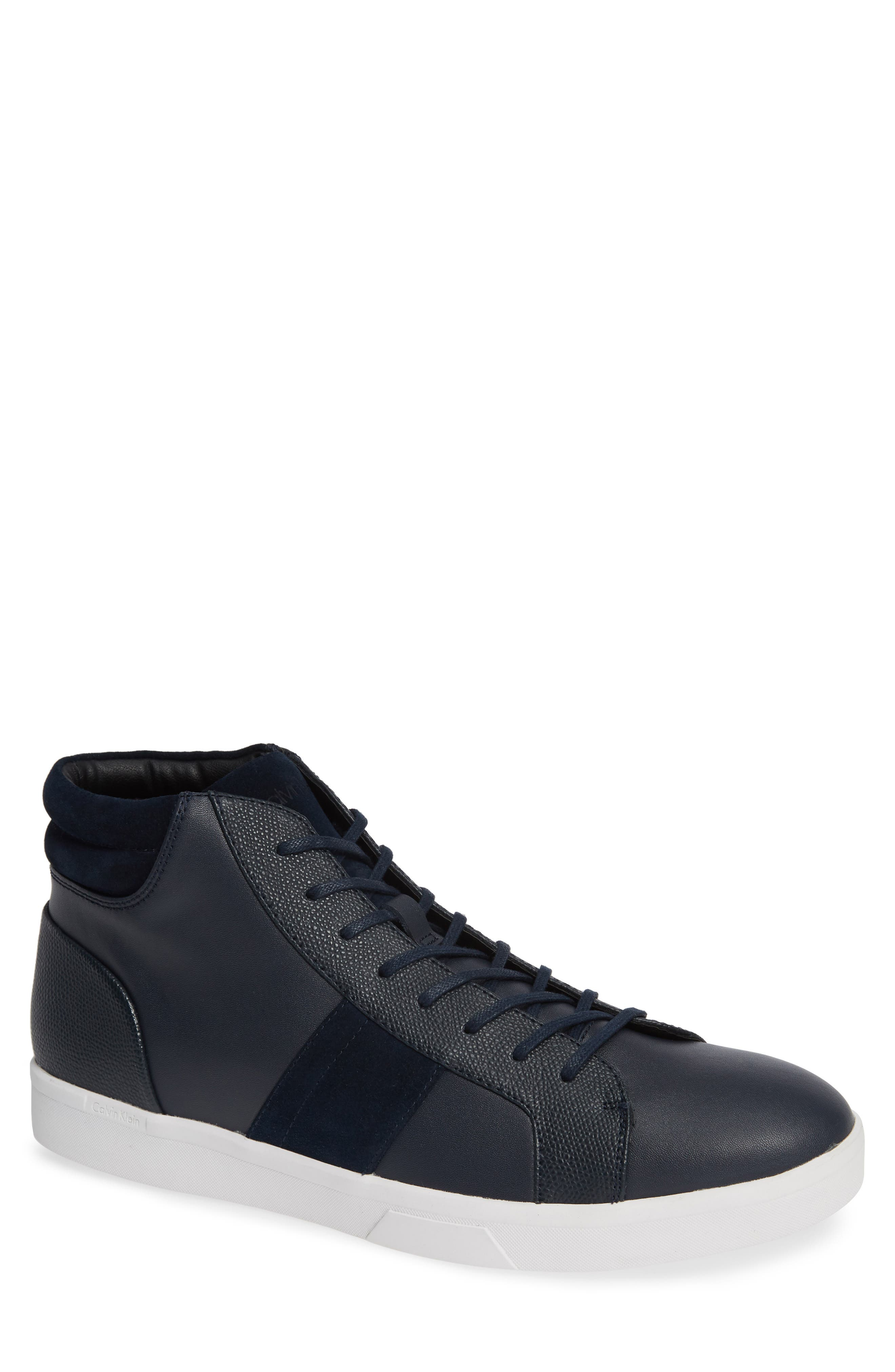 Calvin Klein Ignotus High Top Sneaker- Blue