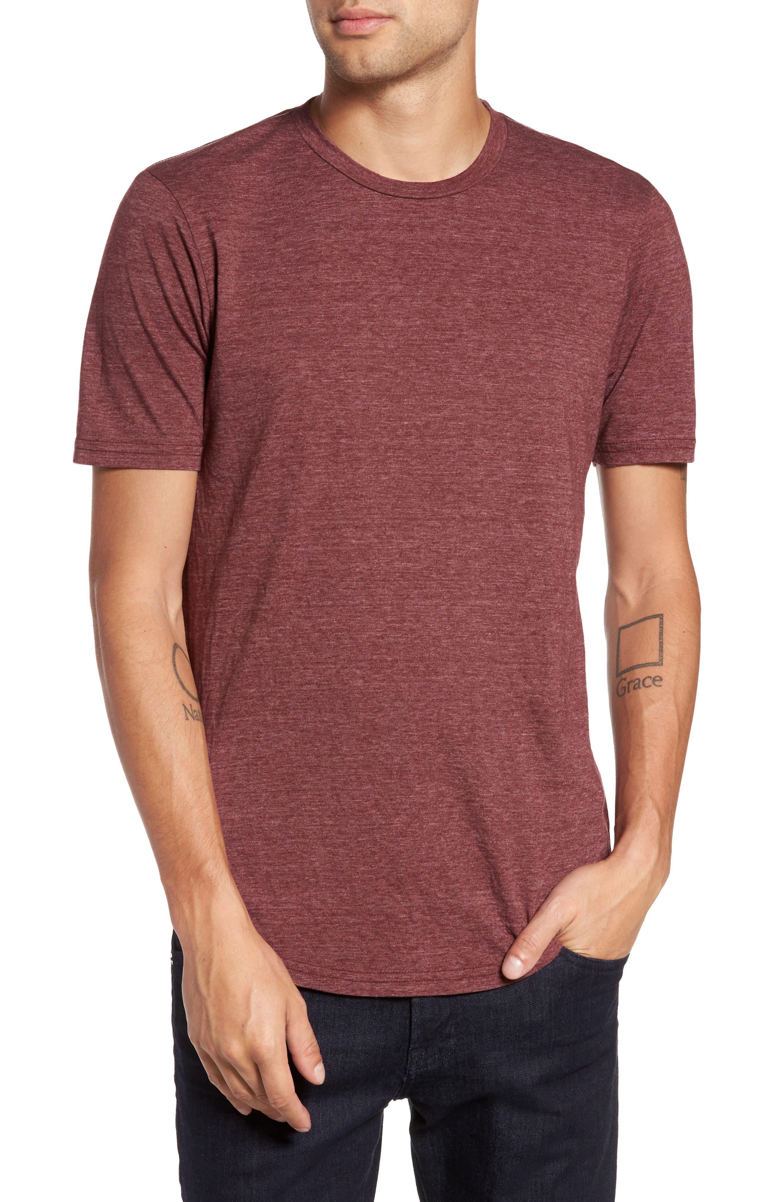 Scallop Triblend Crewneck T-Shirt,                             Main thumbnail 23, color,