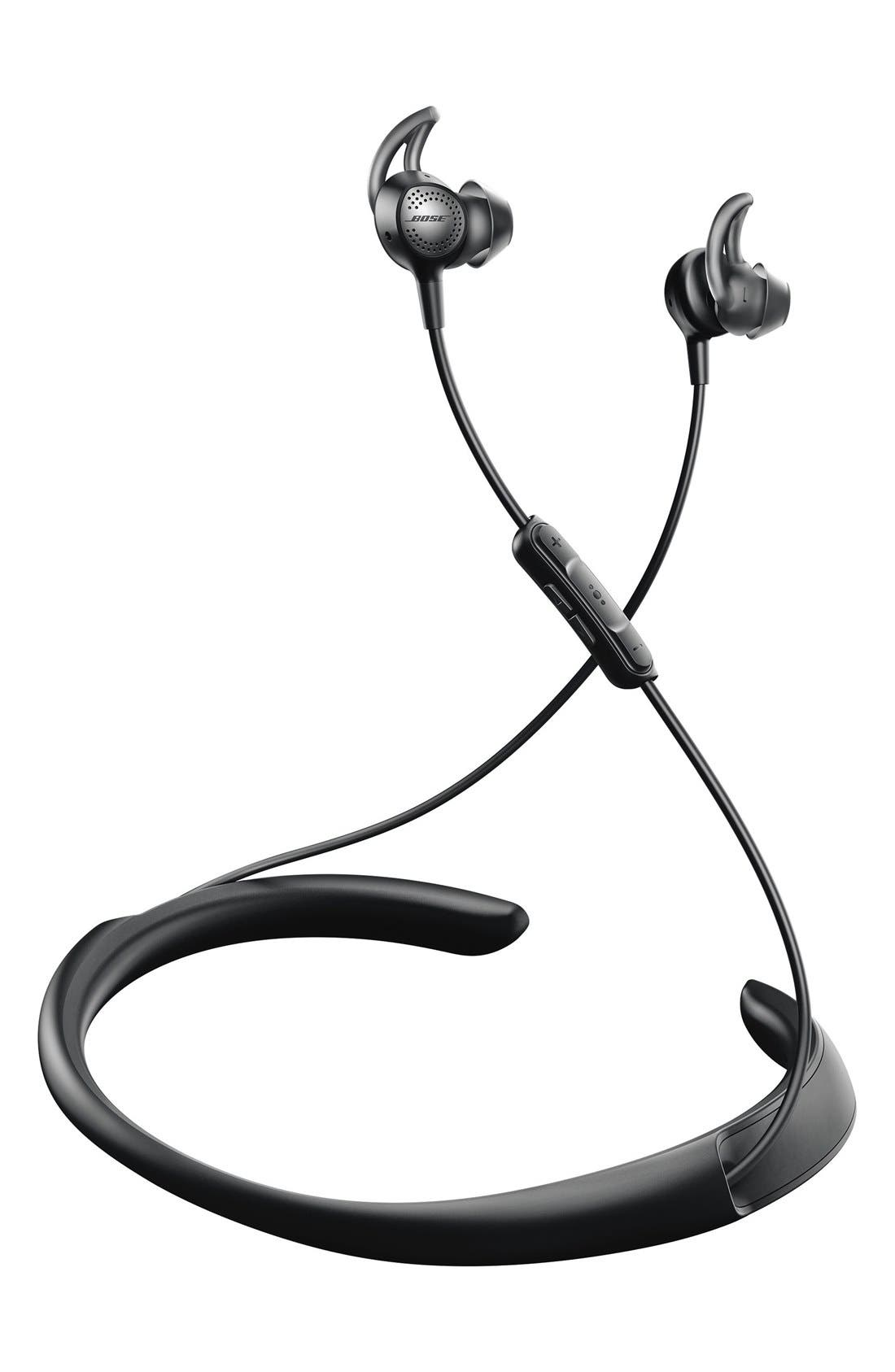 QuietControl<sup>®</sup> 30 Wireless Headphones,                             Alternate thumbnail 6, color,                             BLACK