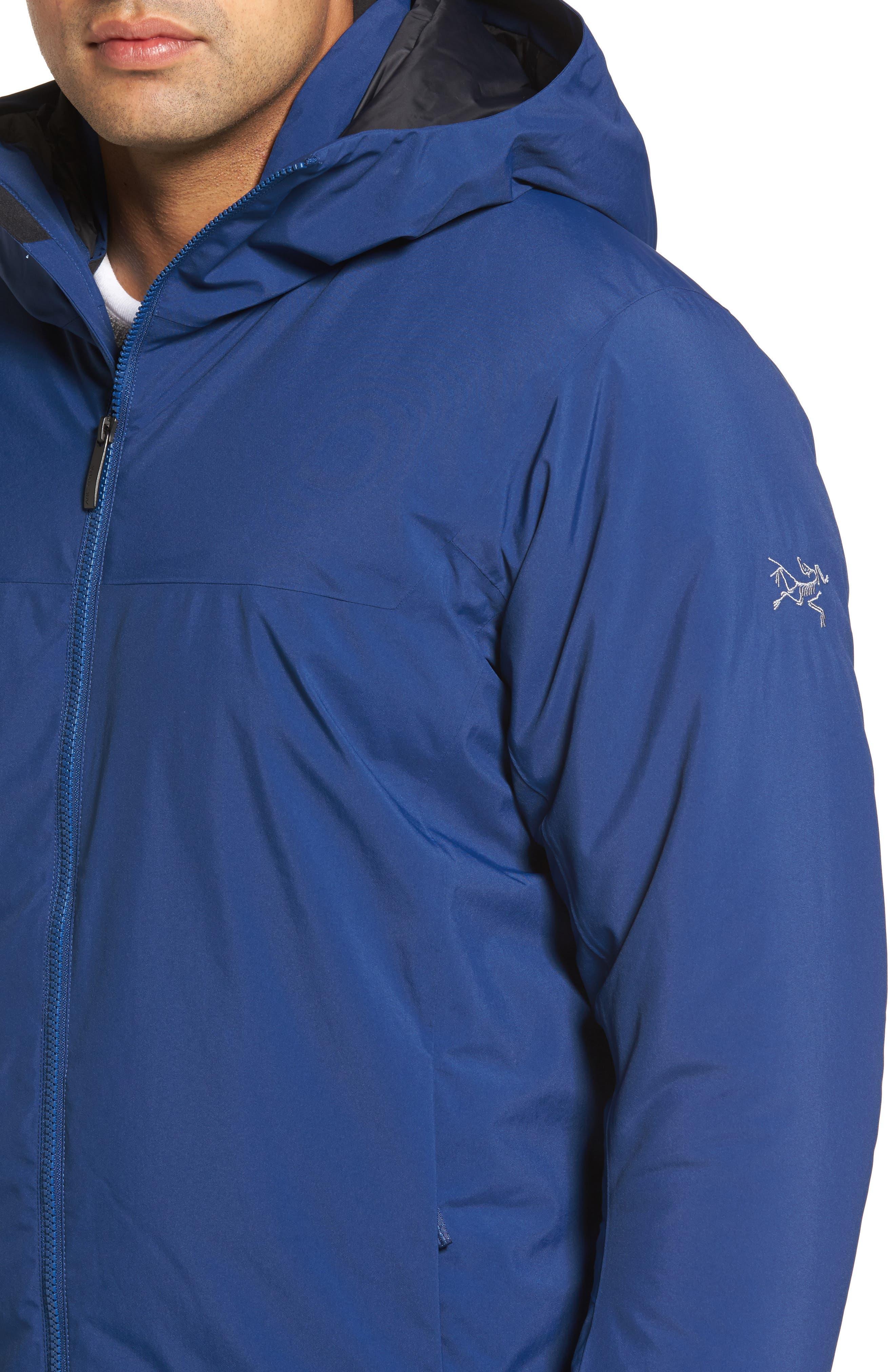 'Koda' Hooded Waterproof Shell Jacket,                             Alternate thumbnail 4, color,                             400