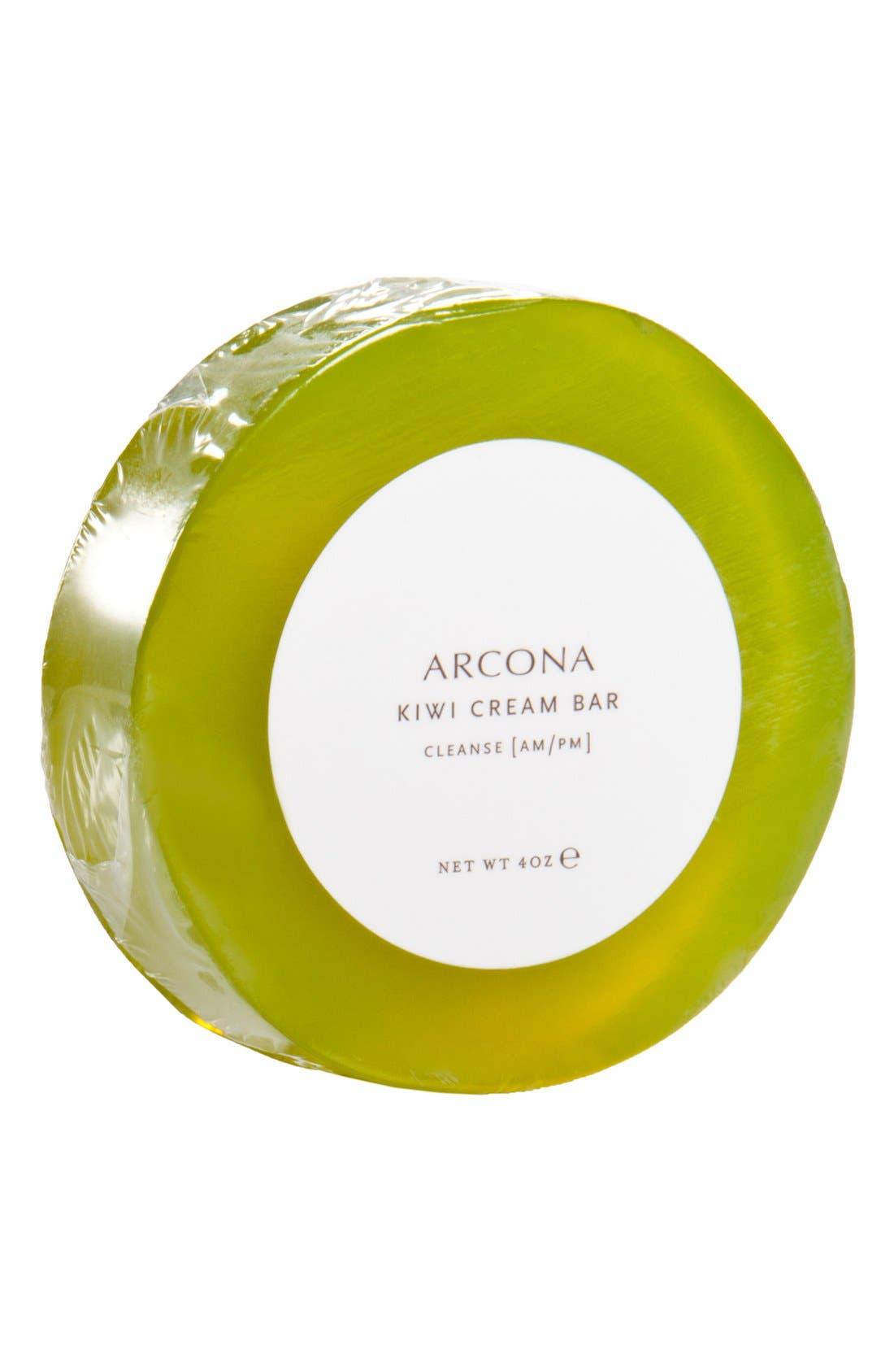 ARCONA Kiwi Cream Bar Facial Cleanser Refill, Main, color, NO COLOR