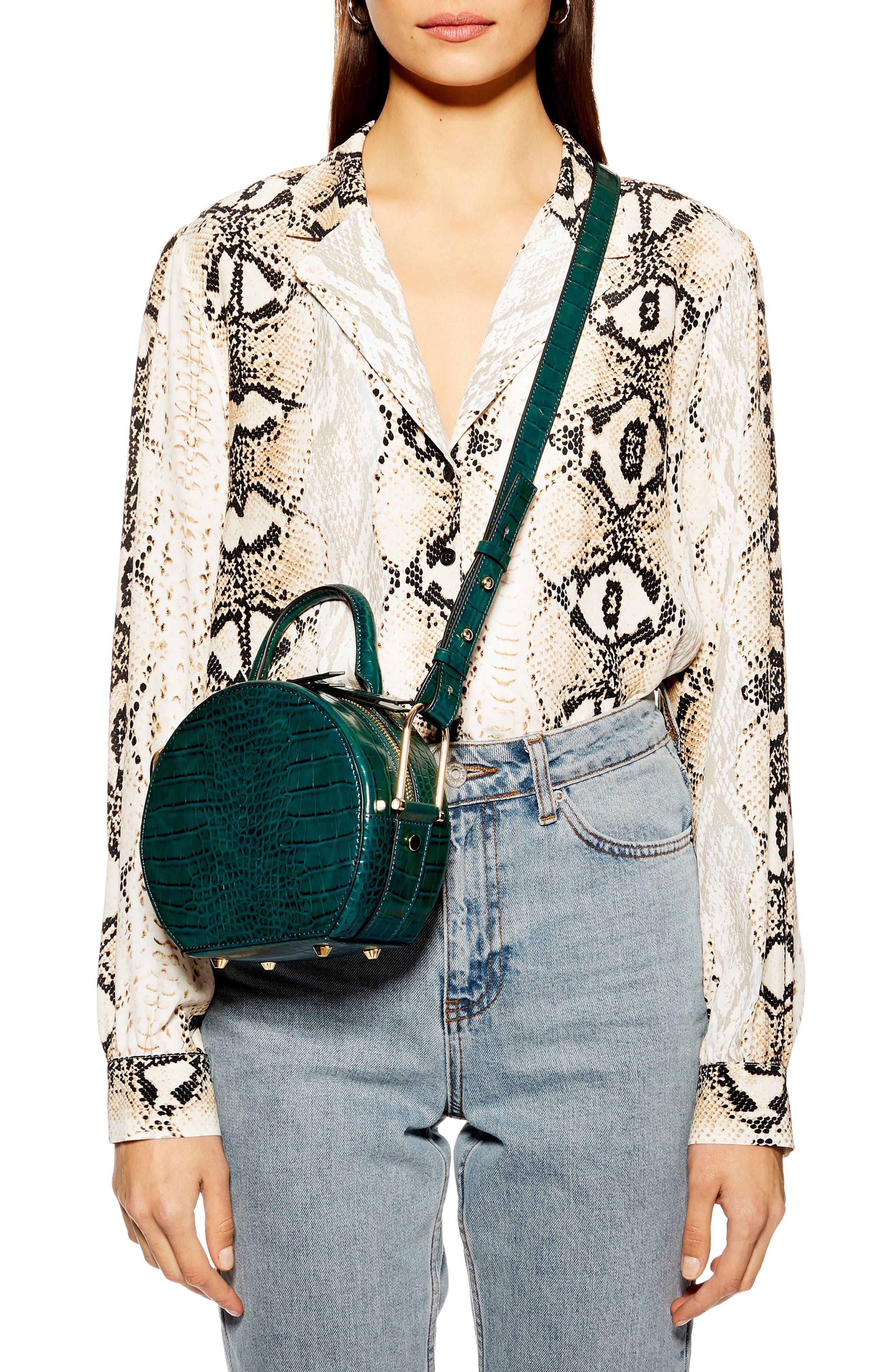 Blair Circle Bag,                             Alternate thumbnail 2, color,                             GREEN