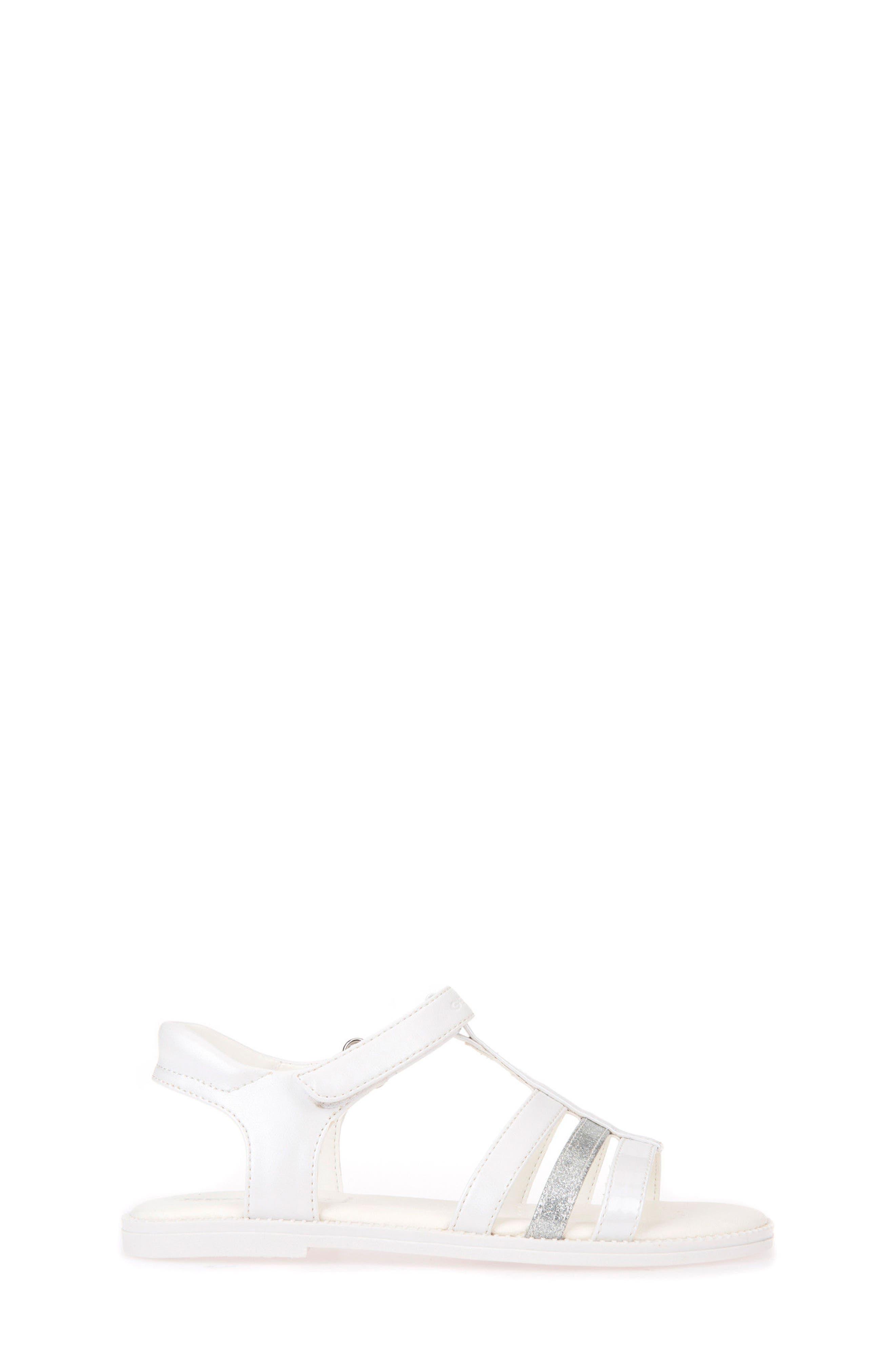 Karly Sandal,                             Alternate thumbnail 3, color,                             WHITE