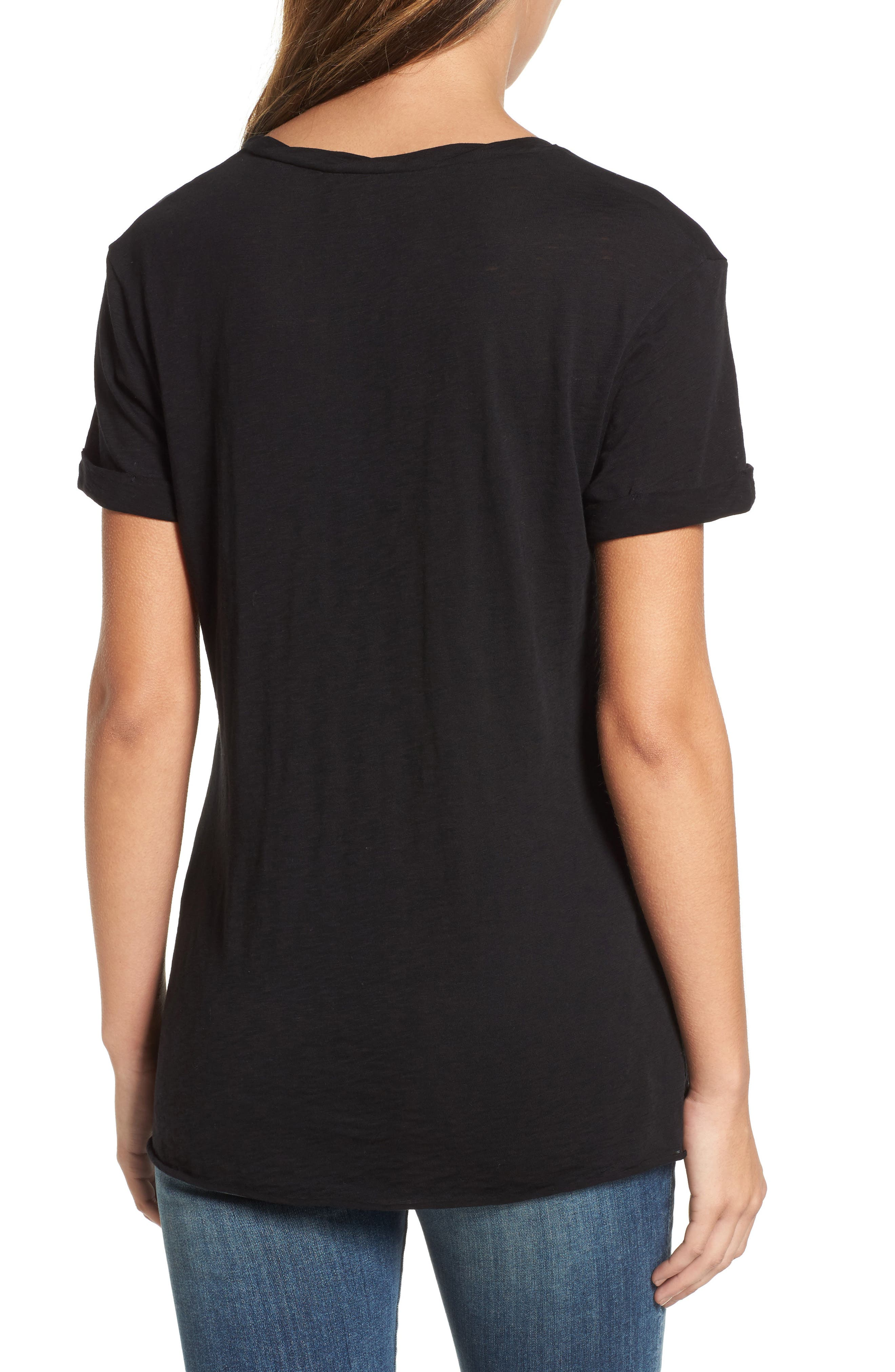 Knotted Tee,                             Alternate thumbnail 16, color,