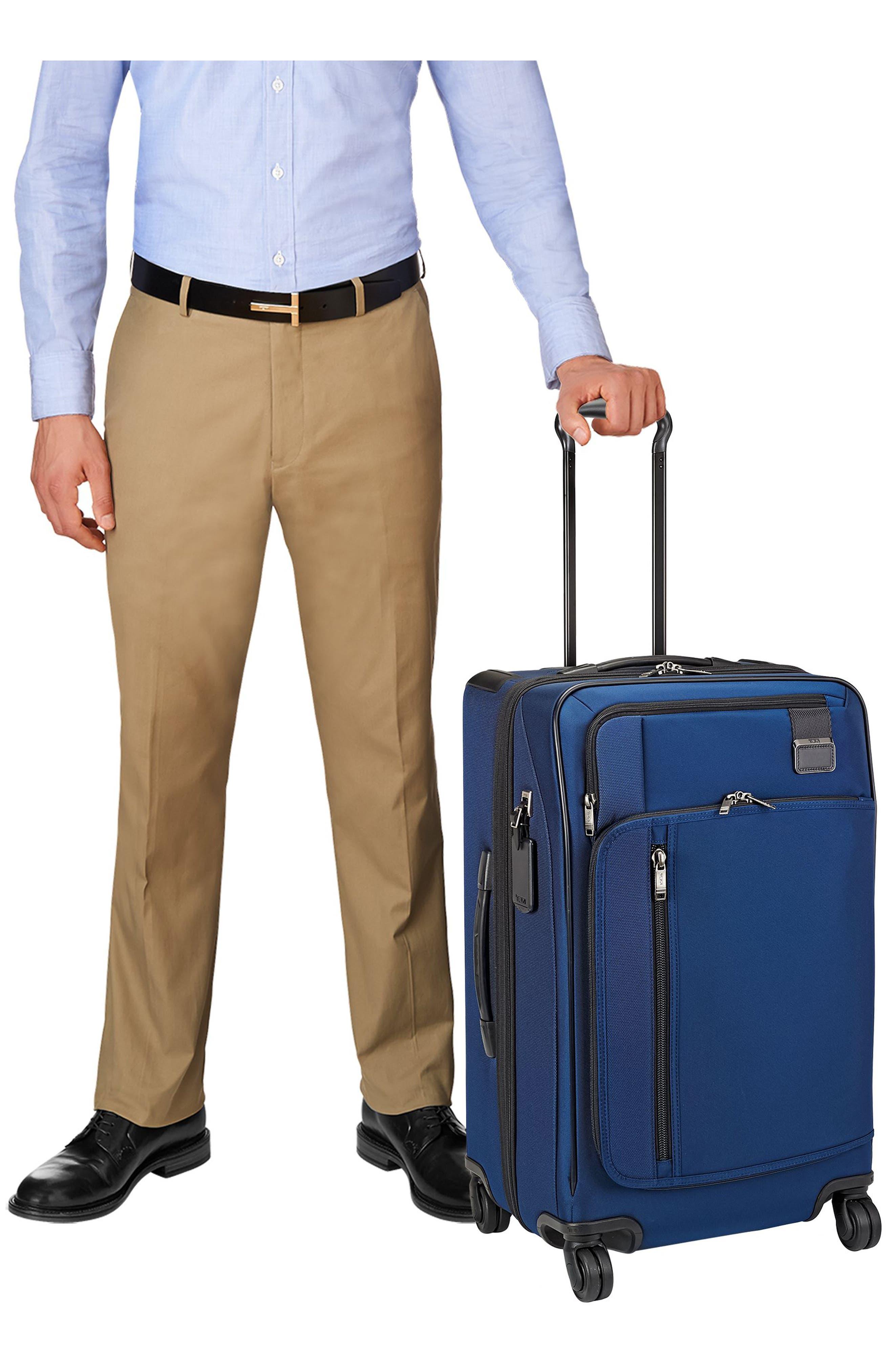 Merge - Short Trip Expandable Rolling Suitcase,                             Alternate thumbnail 6, color,                             OCEAN BLUE
