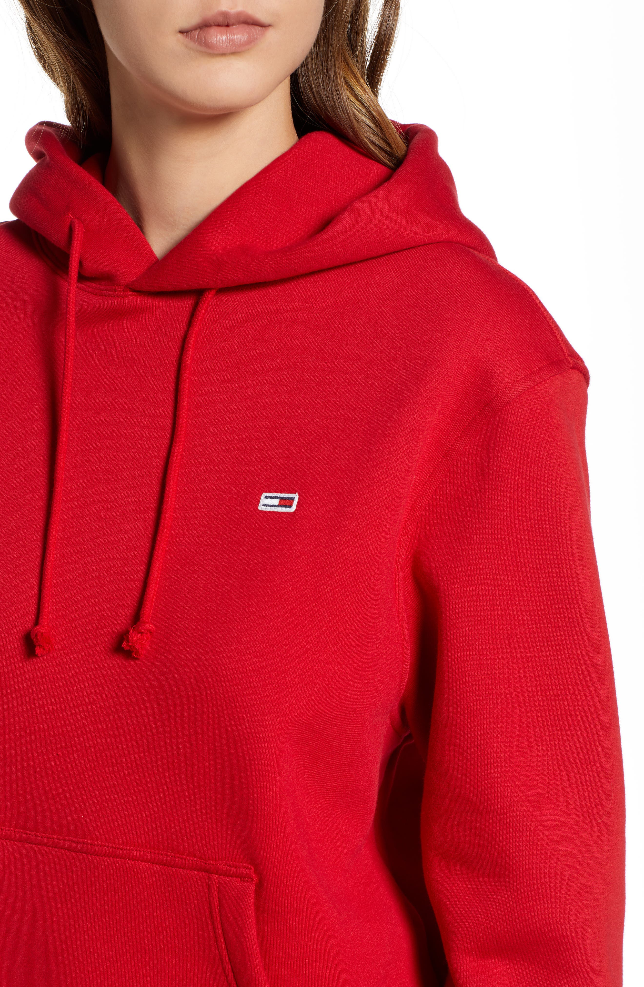 TJW Tommy Classics Hoodie,                             Alternate thumbnail 4, color,                             602