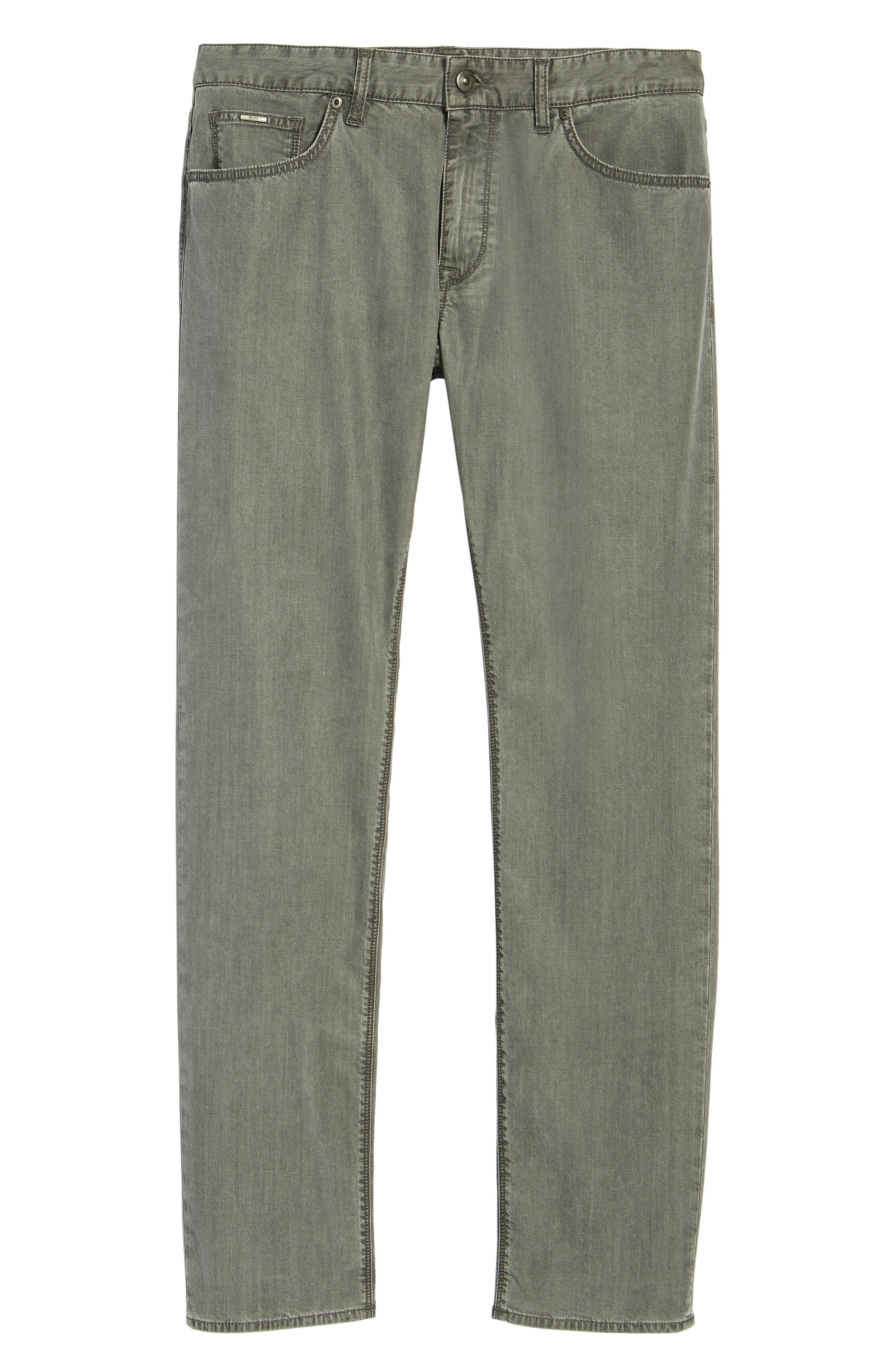 Maine Classic Fit Jeans,                             Alternate thumbnail 6, color,                             GREY