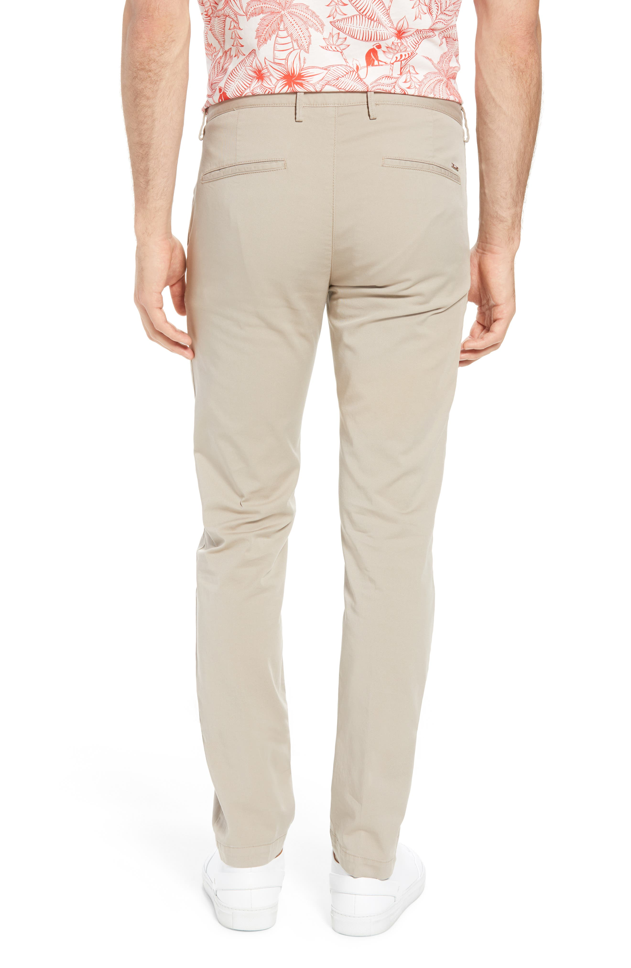 Rice Slim Fit Chino Pants,                             Alternate thumbnail 3, color,