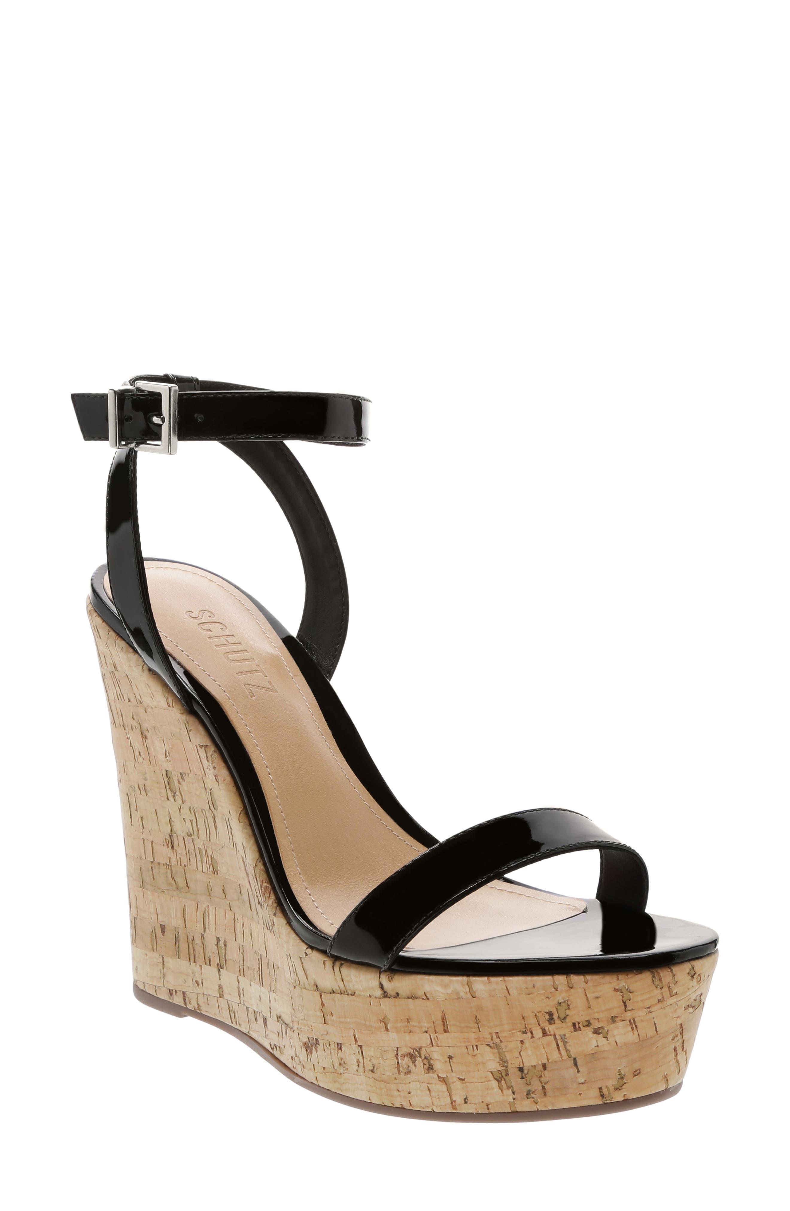 Eduarda Platform Wedge Sandal by Schutz