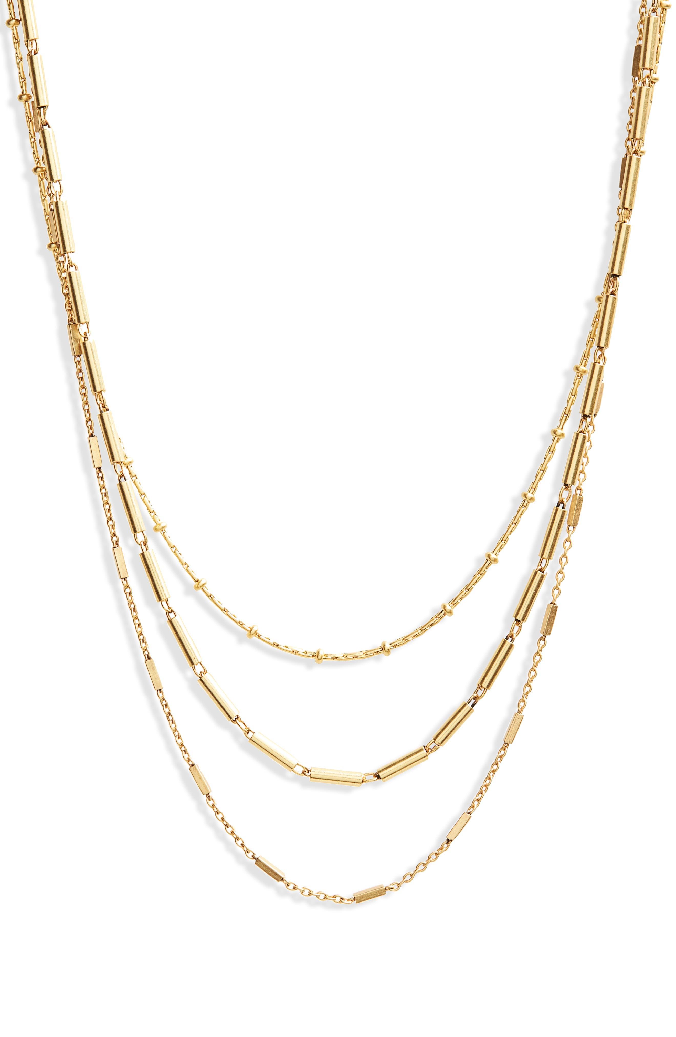 Multistrand Choker Necklace,                         Main,                         color, 710