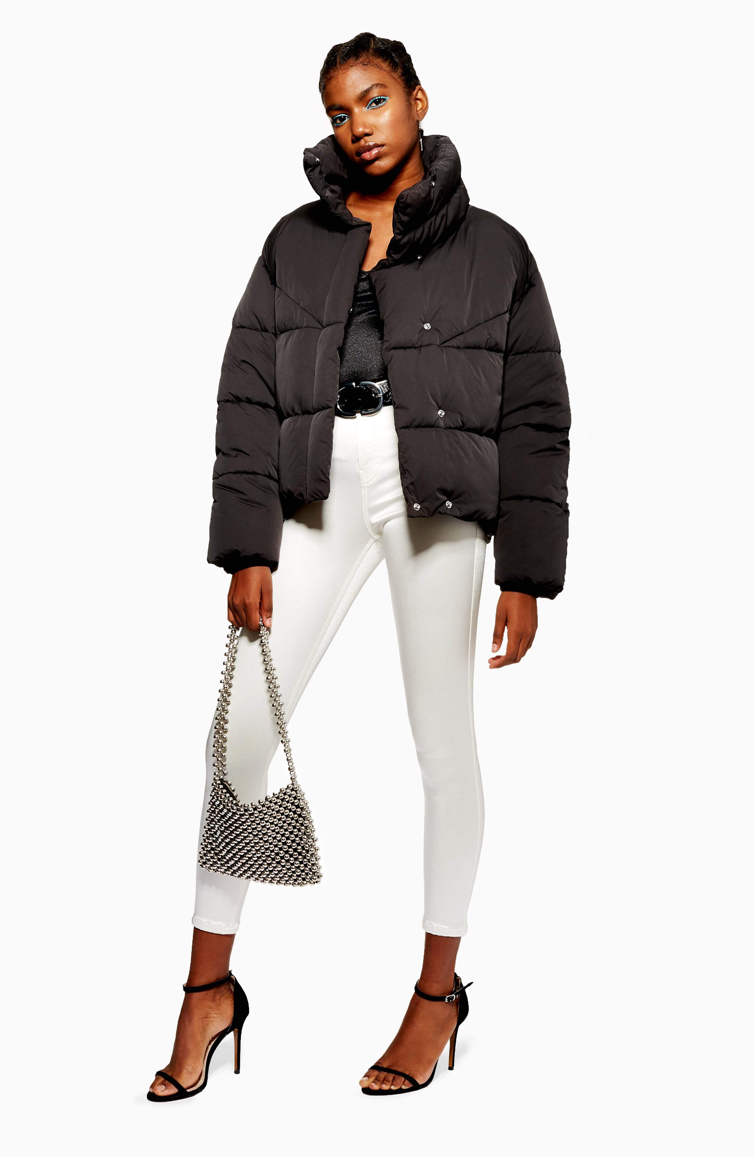 Meghan Puffer Jacket,                             Alternate thumbnail 6, color,                             BLACK