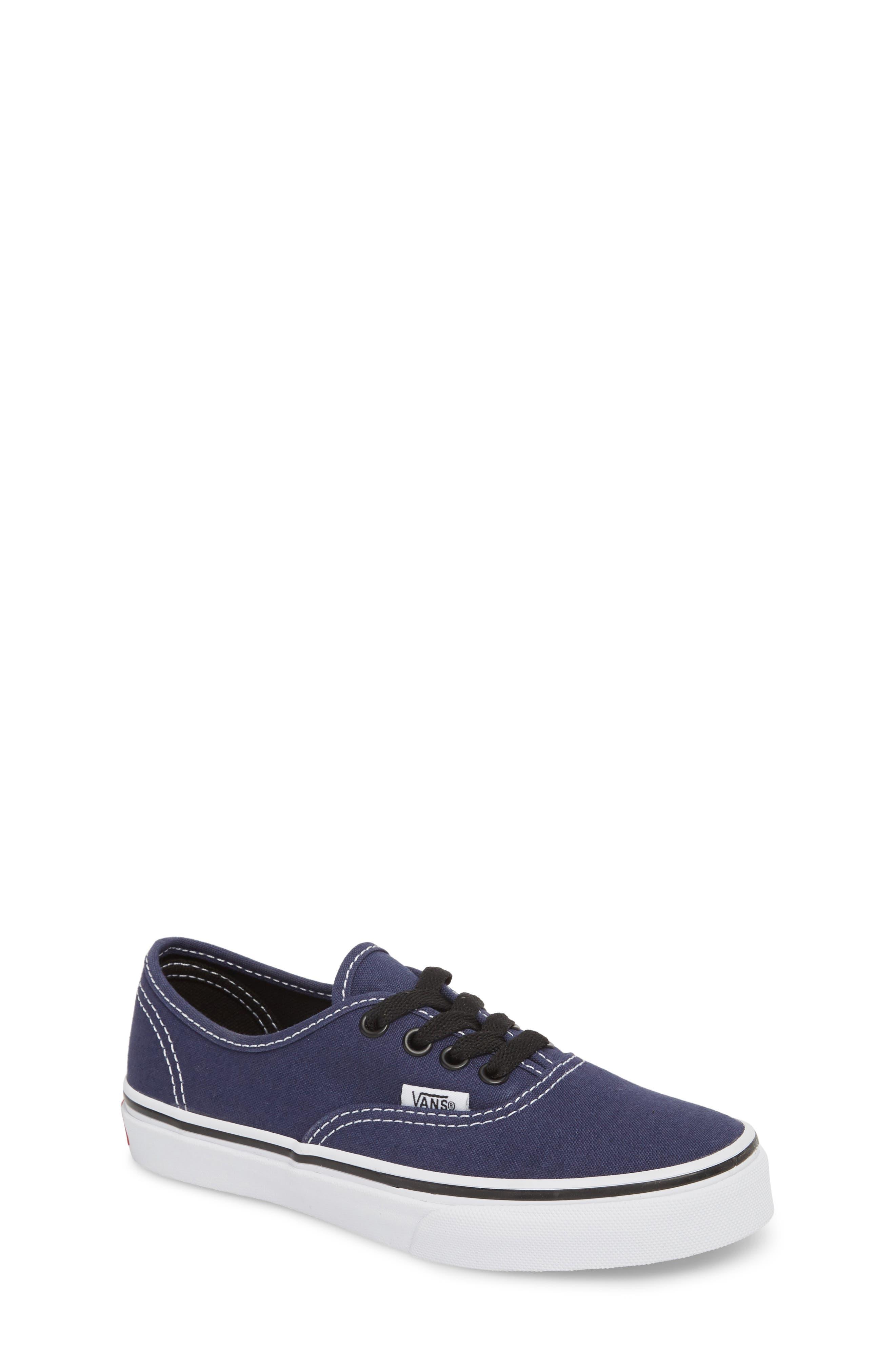 Authentic Sneaker,                         Main,                         color, MEDIEVAL BLUE/ BLACK
