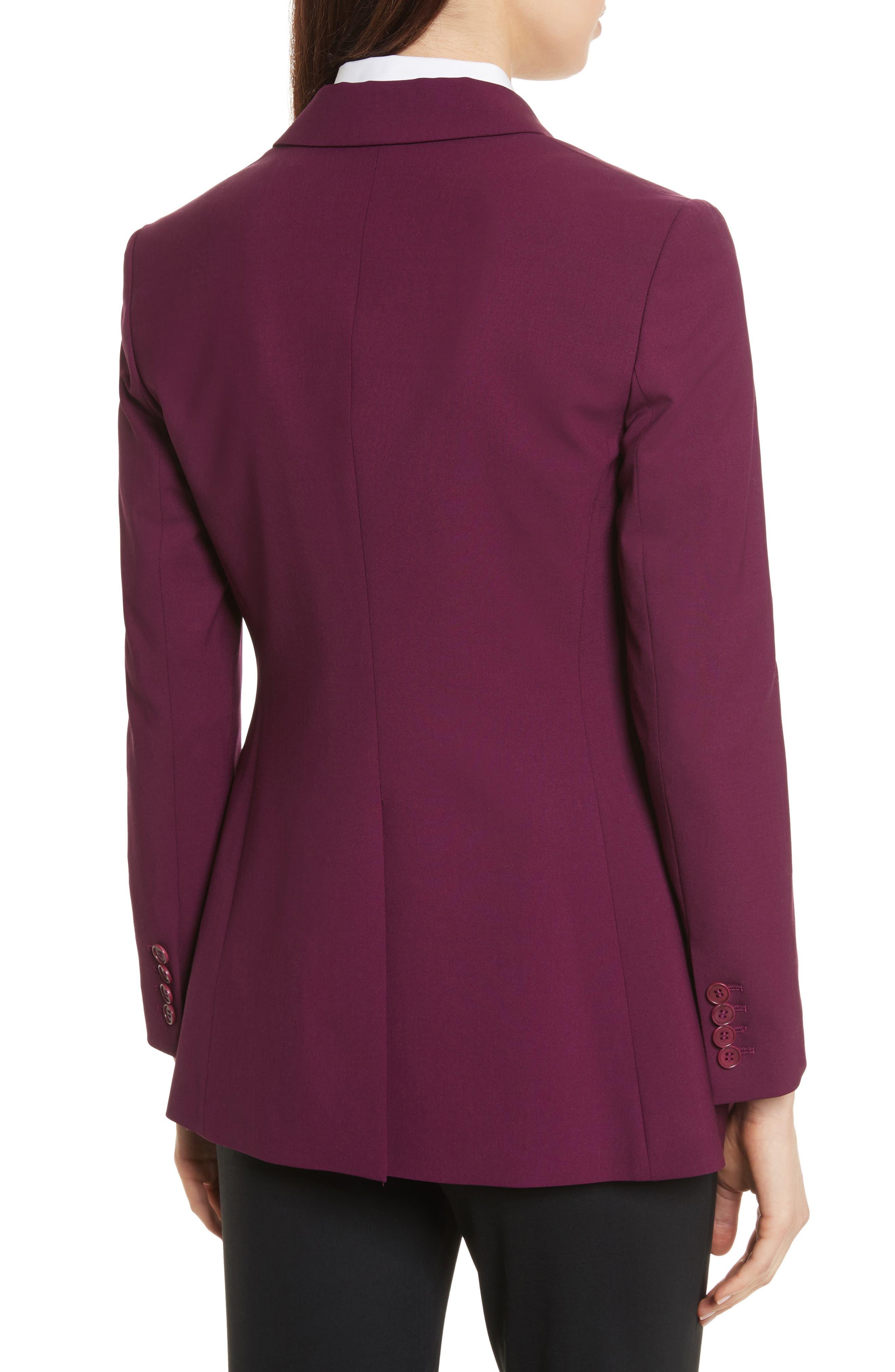 Etienette B Good Wool Suit Jacket,                             Alternate thumbnail 13, color,