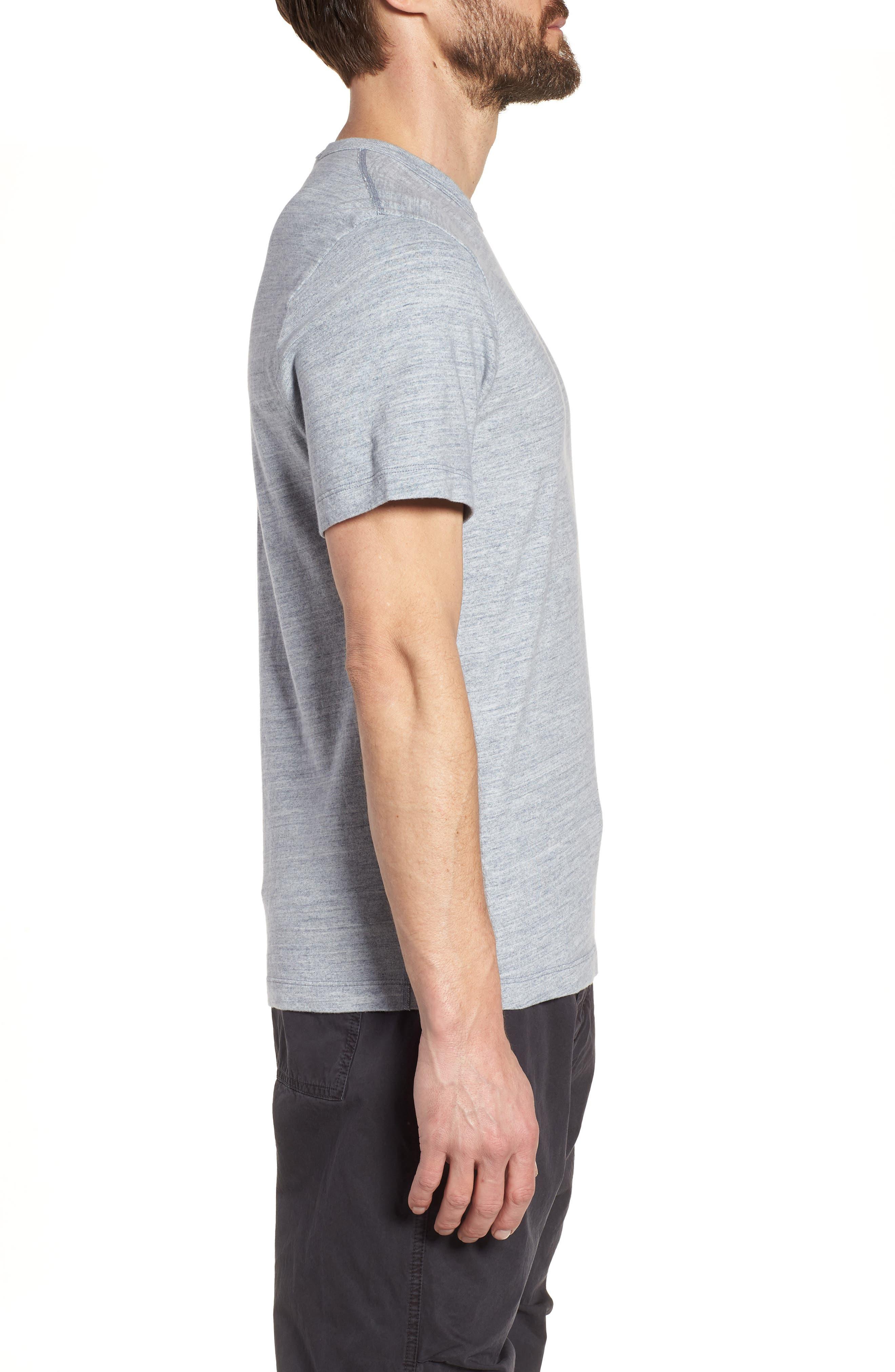 Regular Fit Top Dyed Crewneck T-Shirt,                             Alternate thumbnail 8, color,