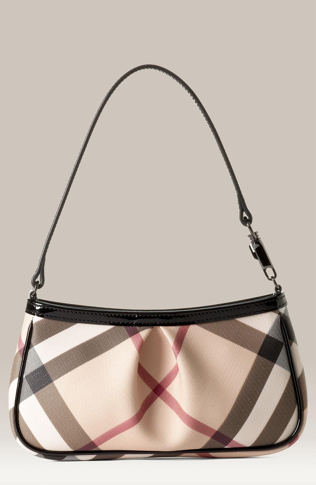 'Nova Check' Mini Shoulder Bag, Main, color, 250