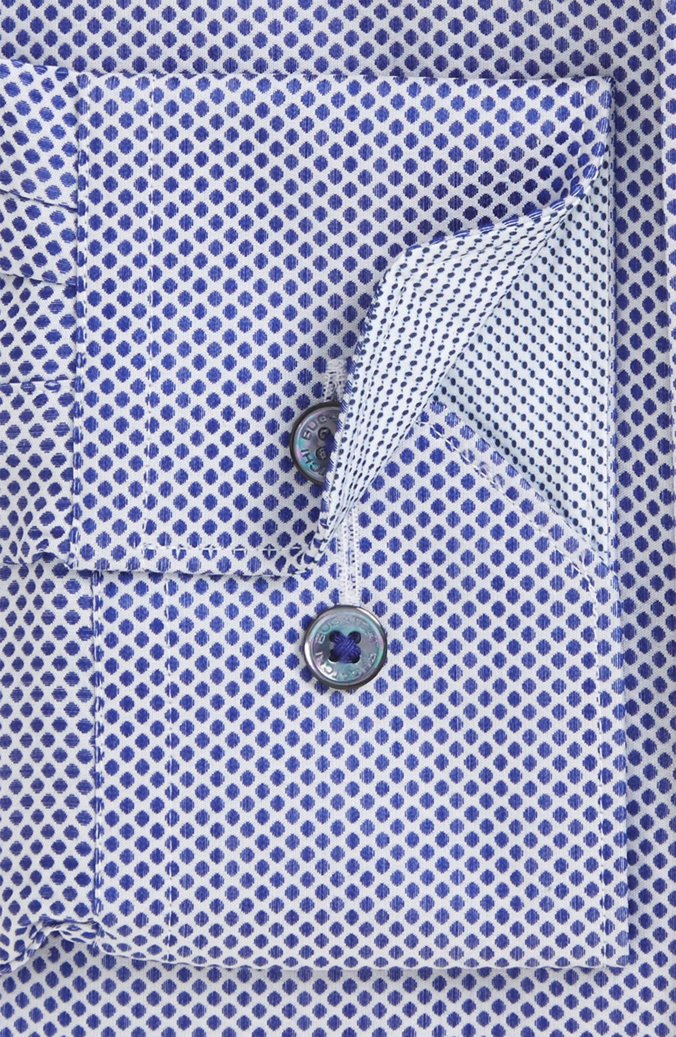 Trim Fit Dot Dress Shirt,                             Main thumbnail 1, color,                             411