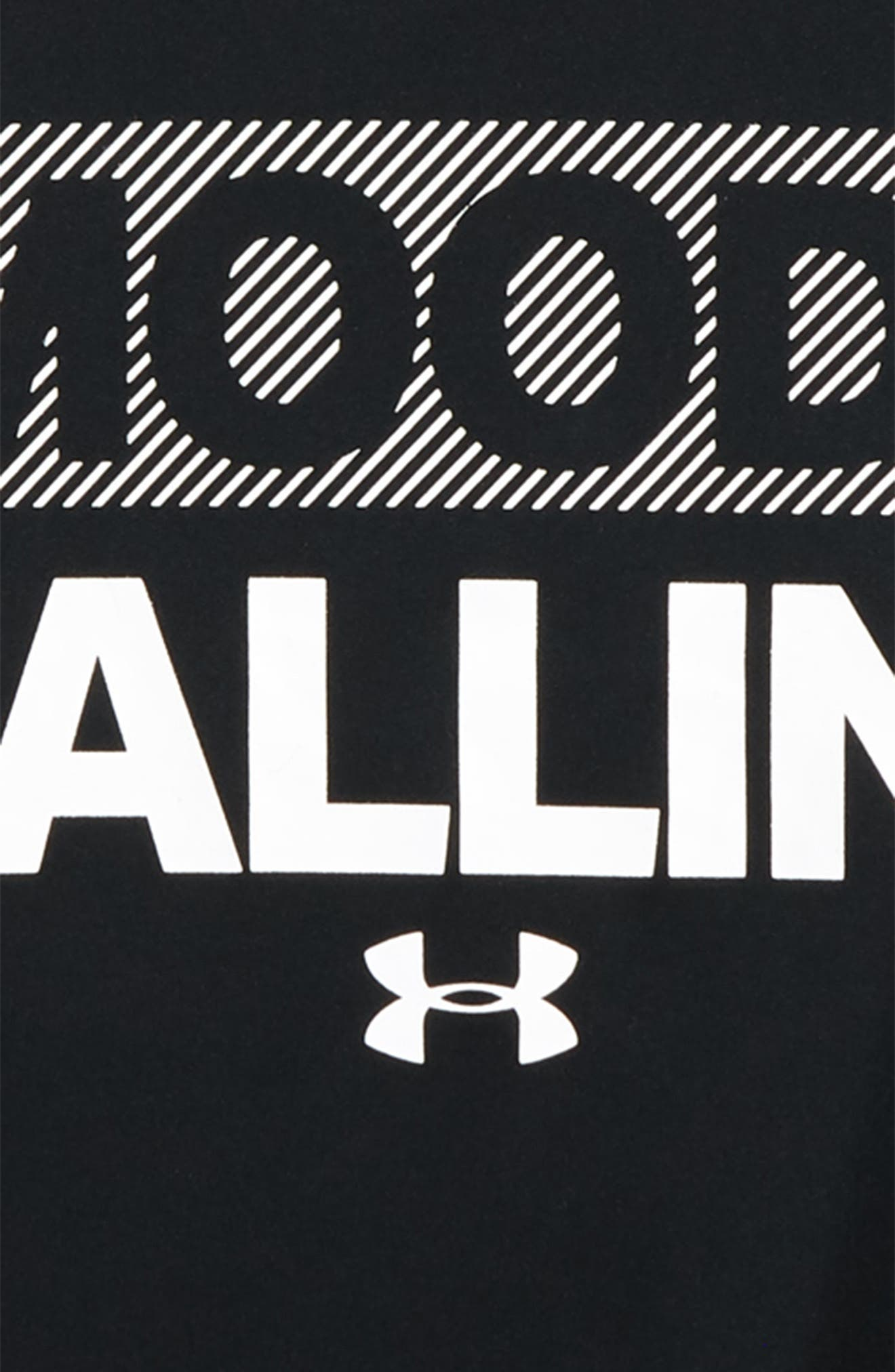 Mood Ballin' Graphic T-Shirt,                             Alternate thumbnail 2, color,                             BLACK