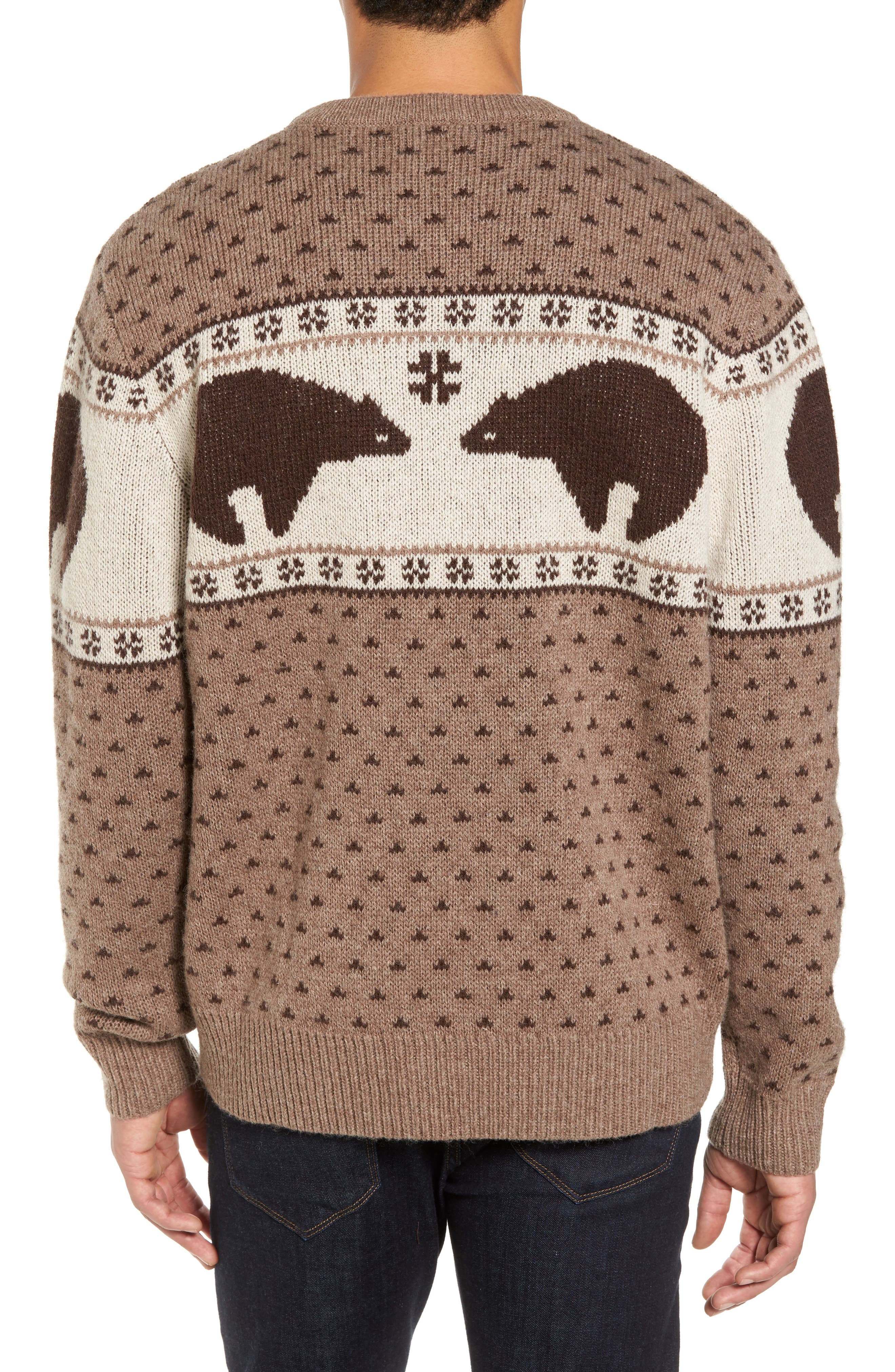 Bear Sweater,                             Alternate thumbnail 2, color,                             250