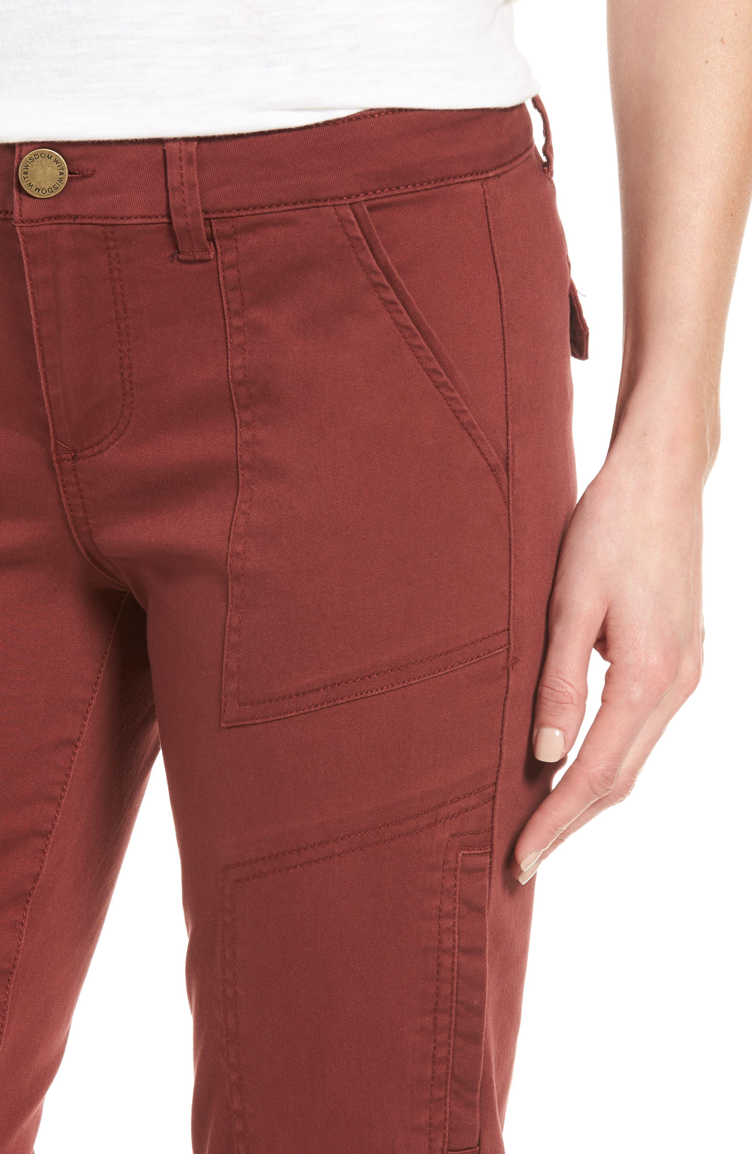 Skinny Cargo Pants,                             Alternate thumbnail 54, color,