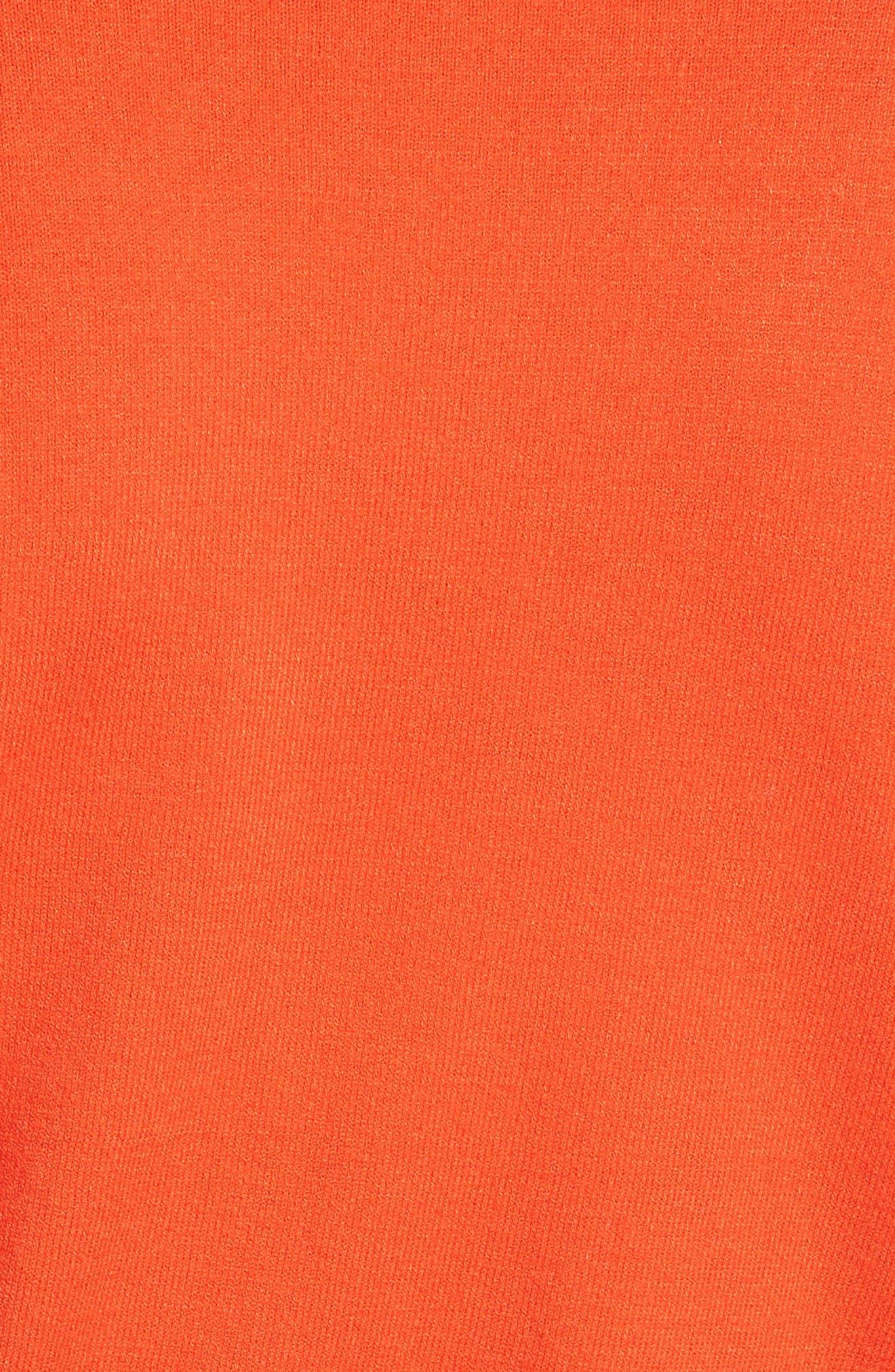 Bell Sleeve V-Neck Sweater,                             Alternate thumbnail 20, color,