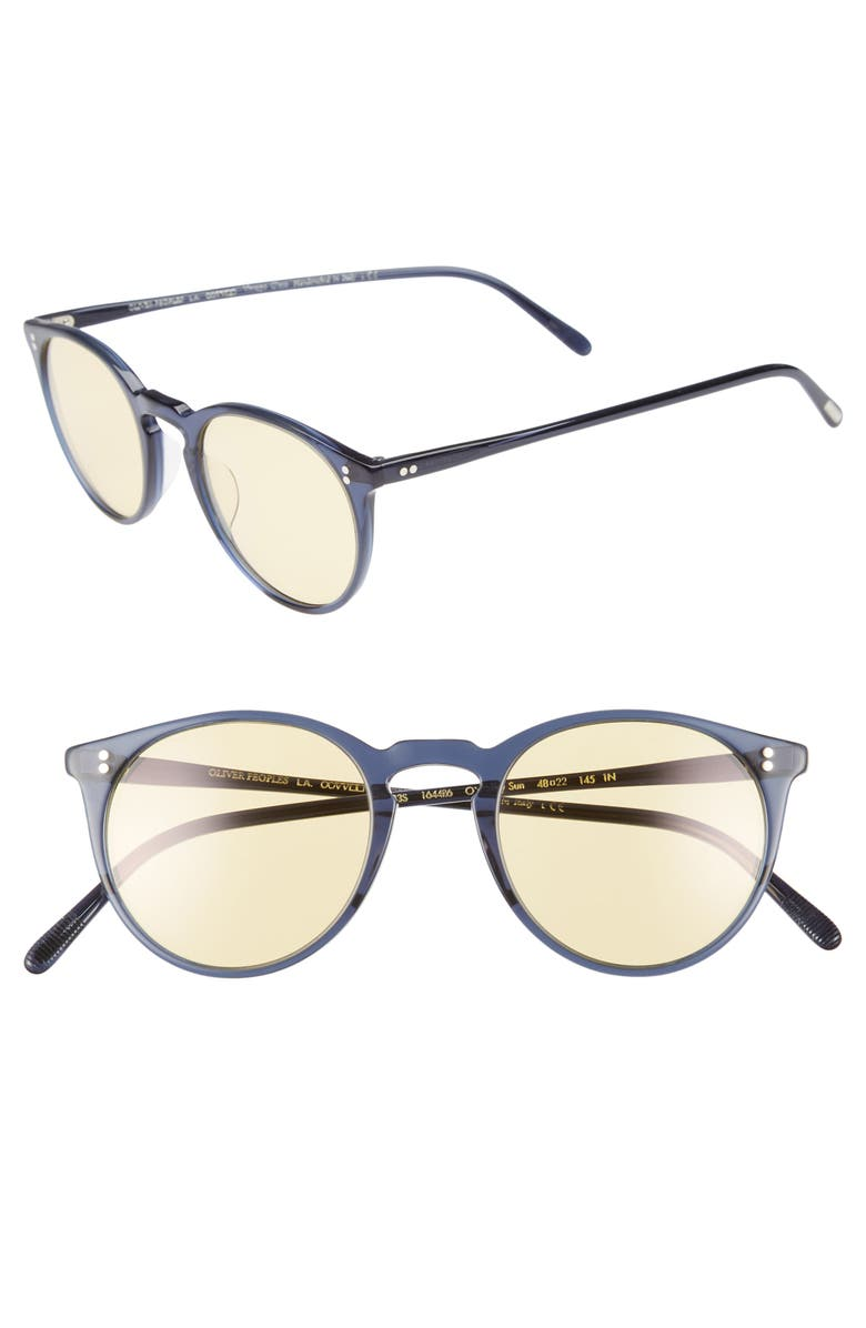 0b138f5164 Oliver Peoples O Malley Sun Sunglasses Sunglasses 506040329 Source · Oliver  Peoples O Malley 48mm Round Sunglasses Nordstrom